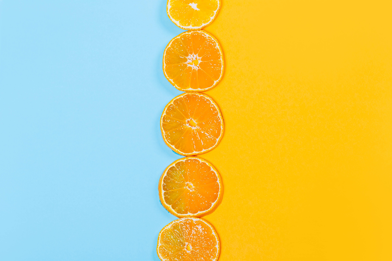 51115 скачать Оранжевые обои на телефон бесплатно, Еда, Фрукт, Цитрус, Оранжевый, Апельсин, Дольки Оранжевые картинки и заставки на мобильный