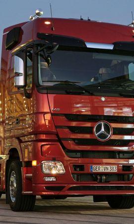 33590 télécharger le fond d'écran Transports, Mercedes, Camions - économiseurs d'écran et images gratuitement