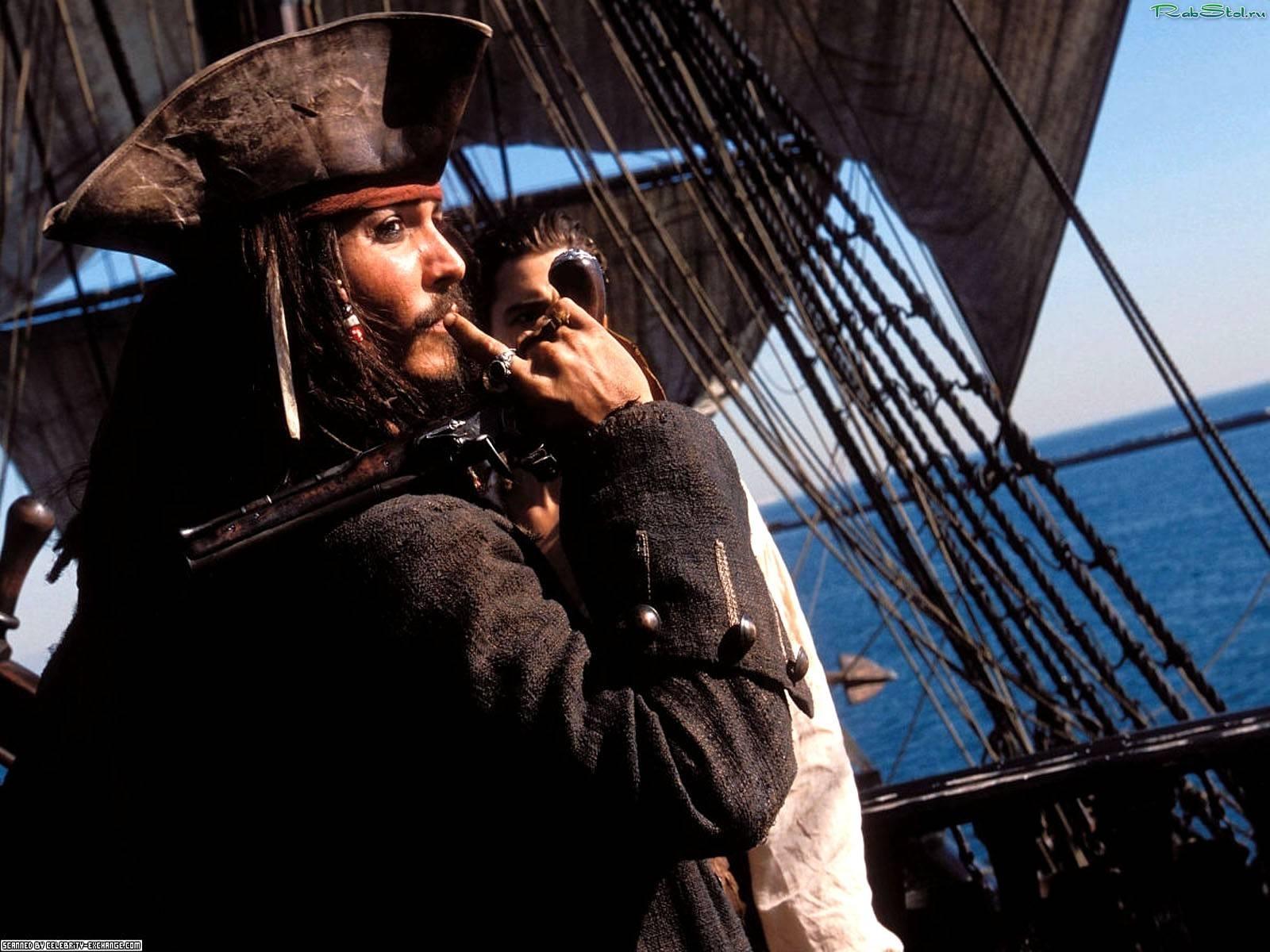 13312 скачать обои Кино, Люди, Актеры, Мужчины, Пираты Карибского Моря (Pirates Of The Caribbean), Джонни Депп (Johnny Depp) - заставки и картинки бесплатно