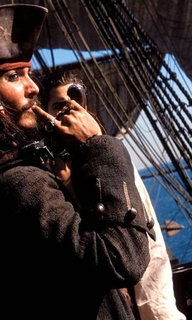 13312 download wallpaper Cinema, People, Actors, Men, Pirates Of The Caribbean, Johnny Depp screensavers and pictures for free