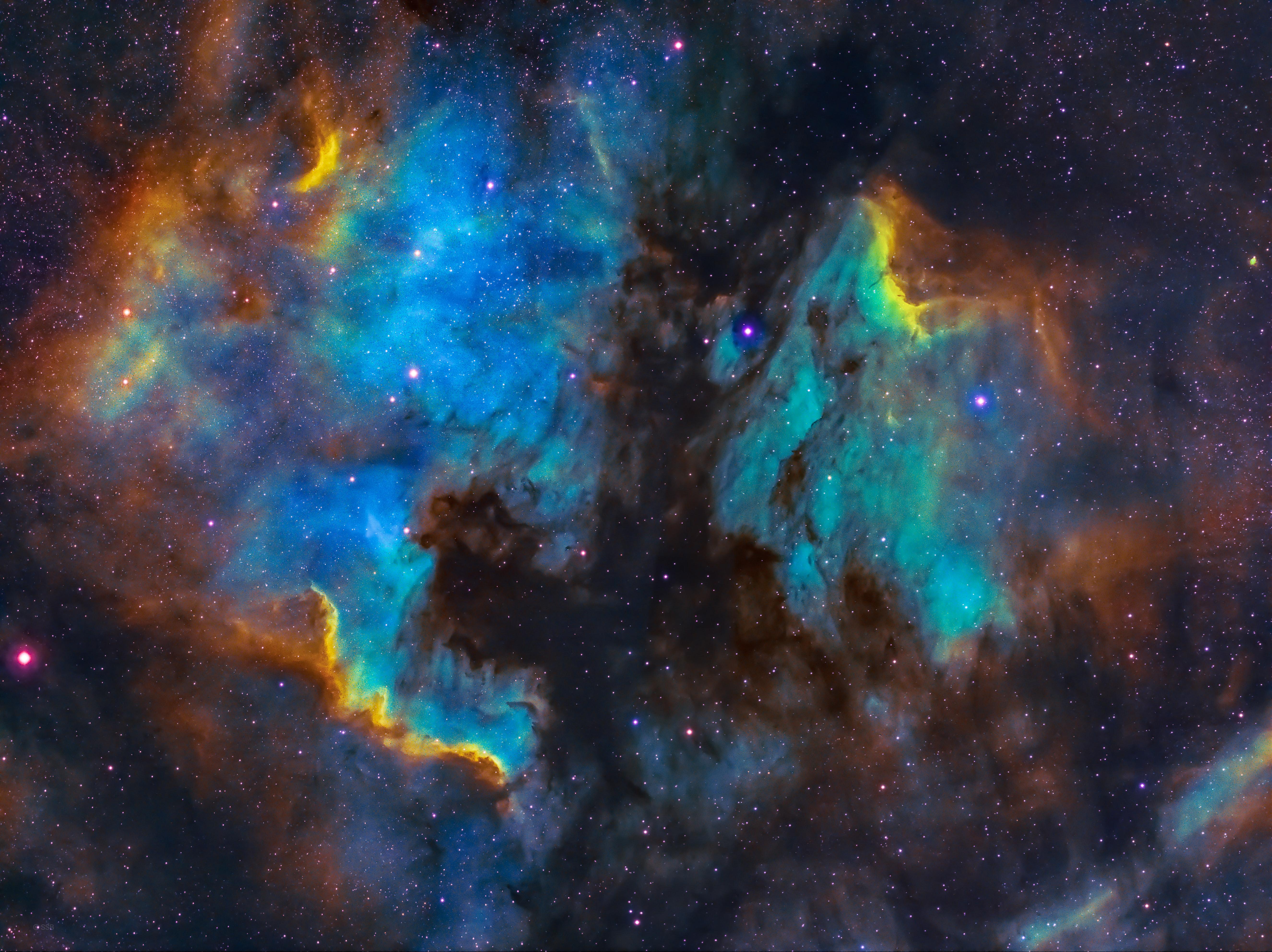 83379 Заставки и Обои Свечение на телефон. Скачать Свечение, Космос, Звезды, Разноцветный, Туманность картинки бесплатно