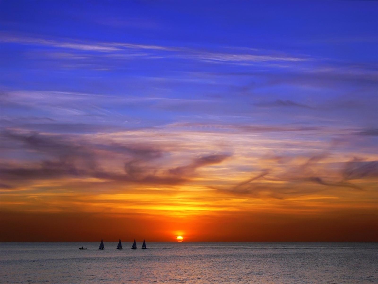 4843 скачать обои Пейзаж, Закат, Небо, Море, Солнце - заставки и картинки бесплатно