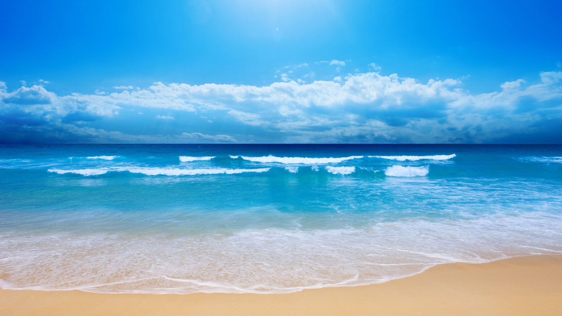 14421 download wallpaper Water, Landscape, Sky, Sea, Beach screensavers and pictures for free