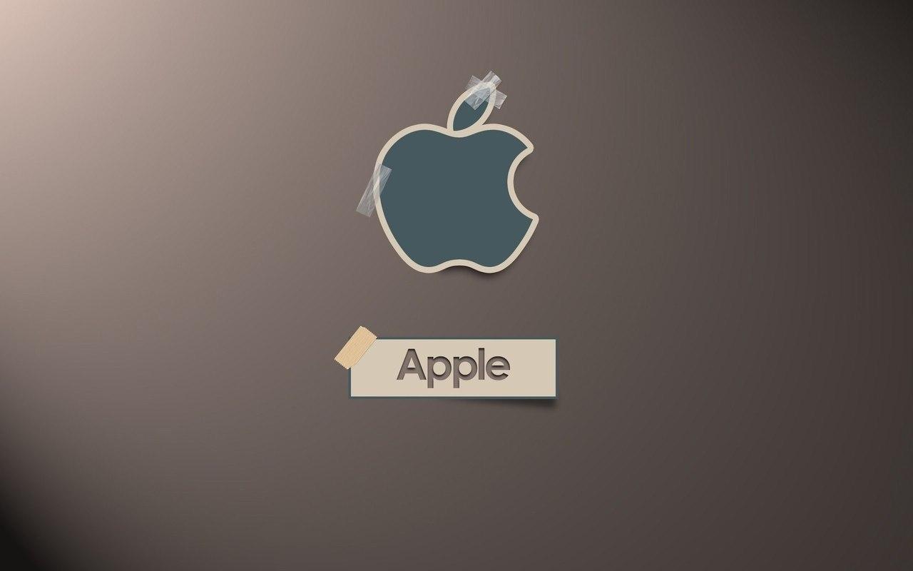 15614 descargar fondo de pantalla Marcas, Logos, Manzana: protectores de pantalla e imágenes gratis