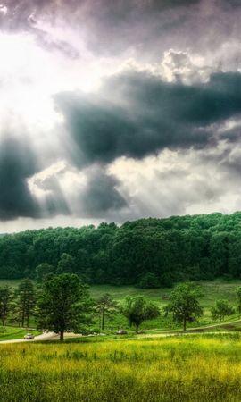 12725 télécharger le fond d'écran Paysage, Sky, Sun - économiseurs d'écran et images gratuitement
