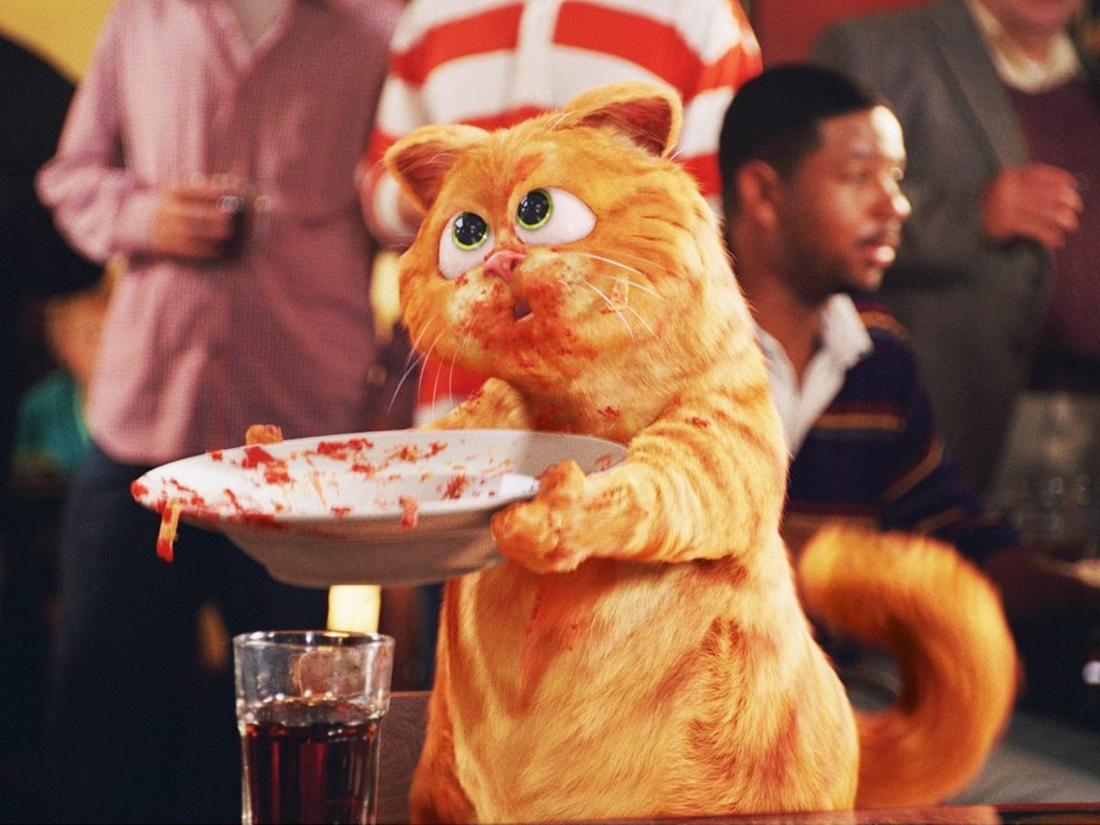 16029 baixar papel de parede Cinema, Engraçado, Garfield, Animais, Gatos - protetores de tela e imagens gratuitamente