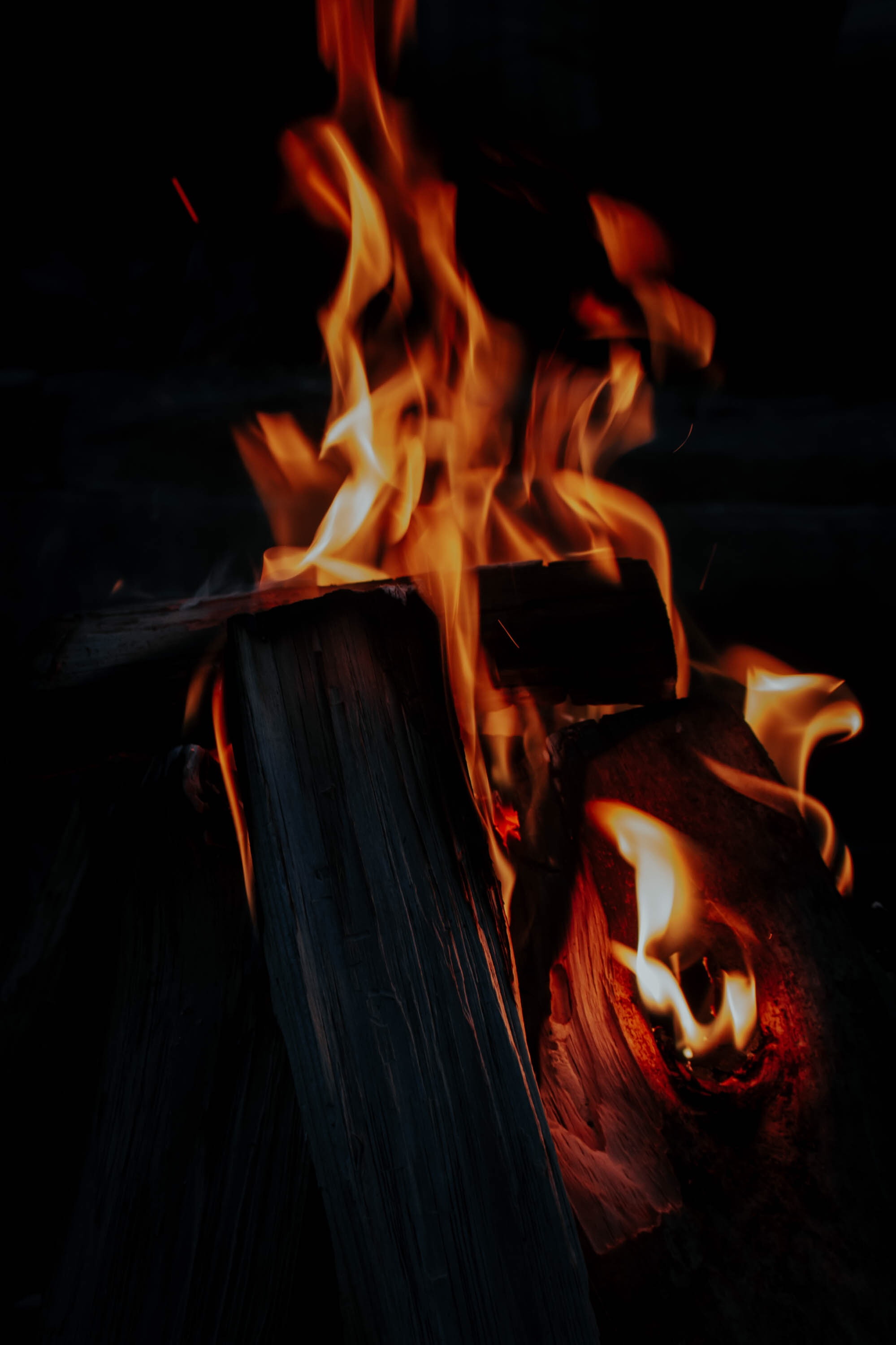 117077 Screensavers and Wallpapers Firewood for phone. Download Fire, Bonfire, Dark, Flame, Firewood pictures for free