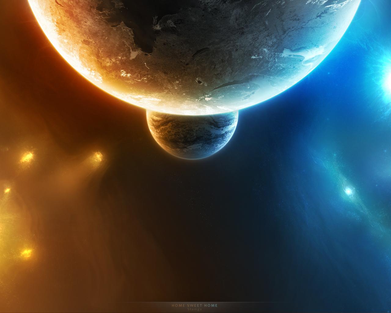 17908 скачать обои Пейзаж, Планеты, Космос - заставки и картинки бесплатно