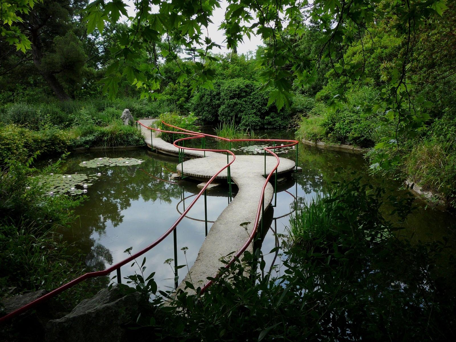 4435 скачать обои Пейзаж, Река, Мосты, Деревья - заставки и картинки бесплатно