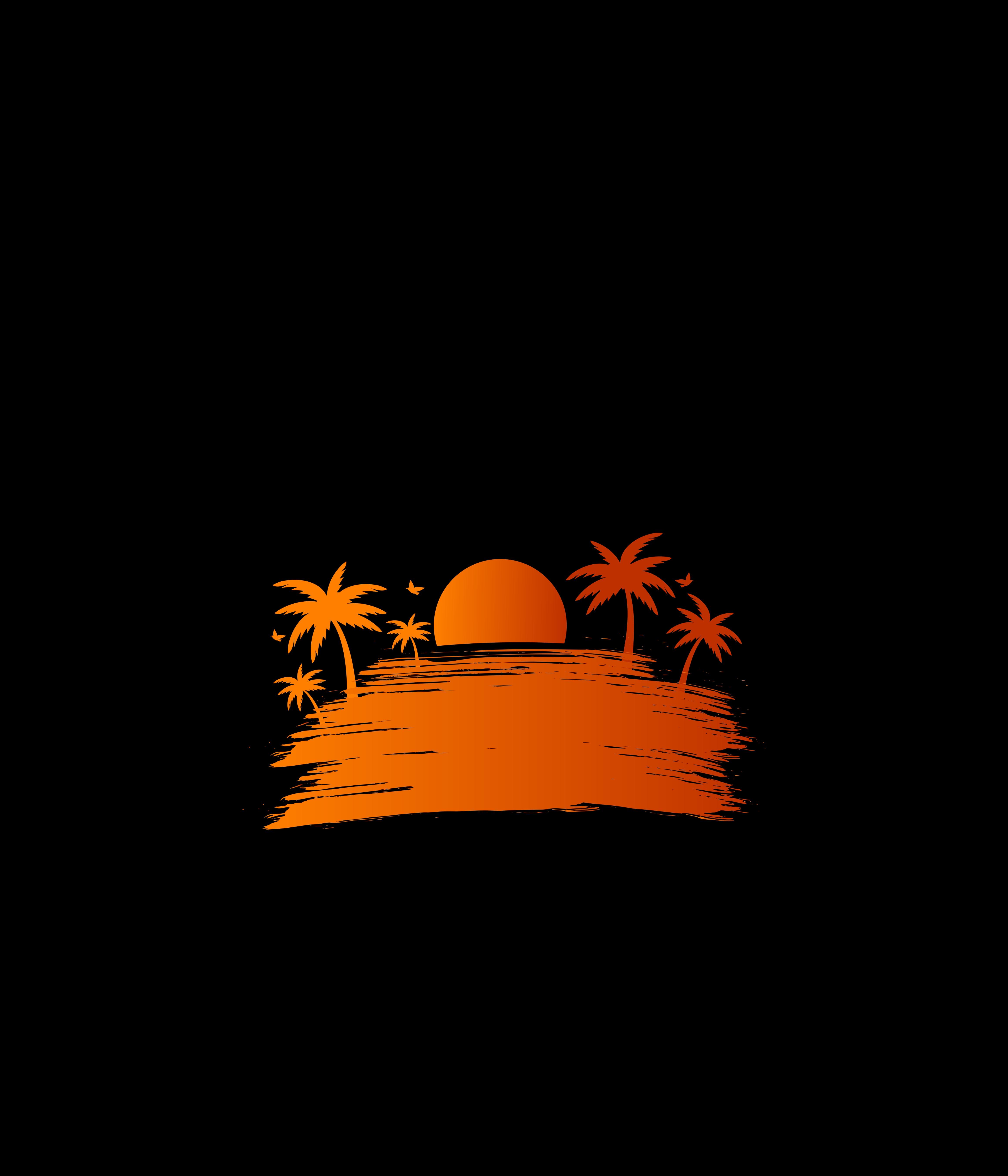 67655 fond d'écran 720x1520 sur votre téléphone gratuitement, téléchargez des images Coucher De Soleil, Art, Sun, Vecteur, Paume 720x1520 sur votre mobile