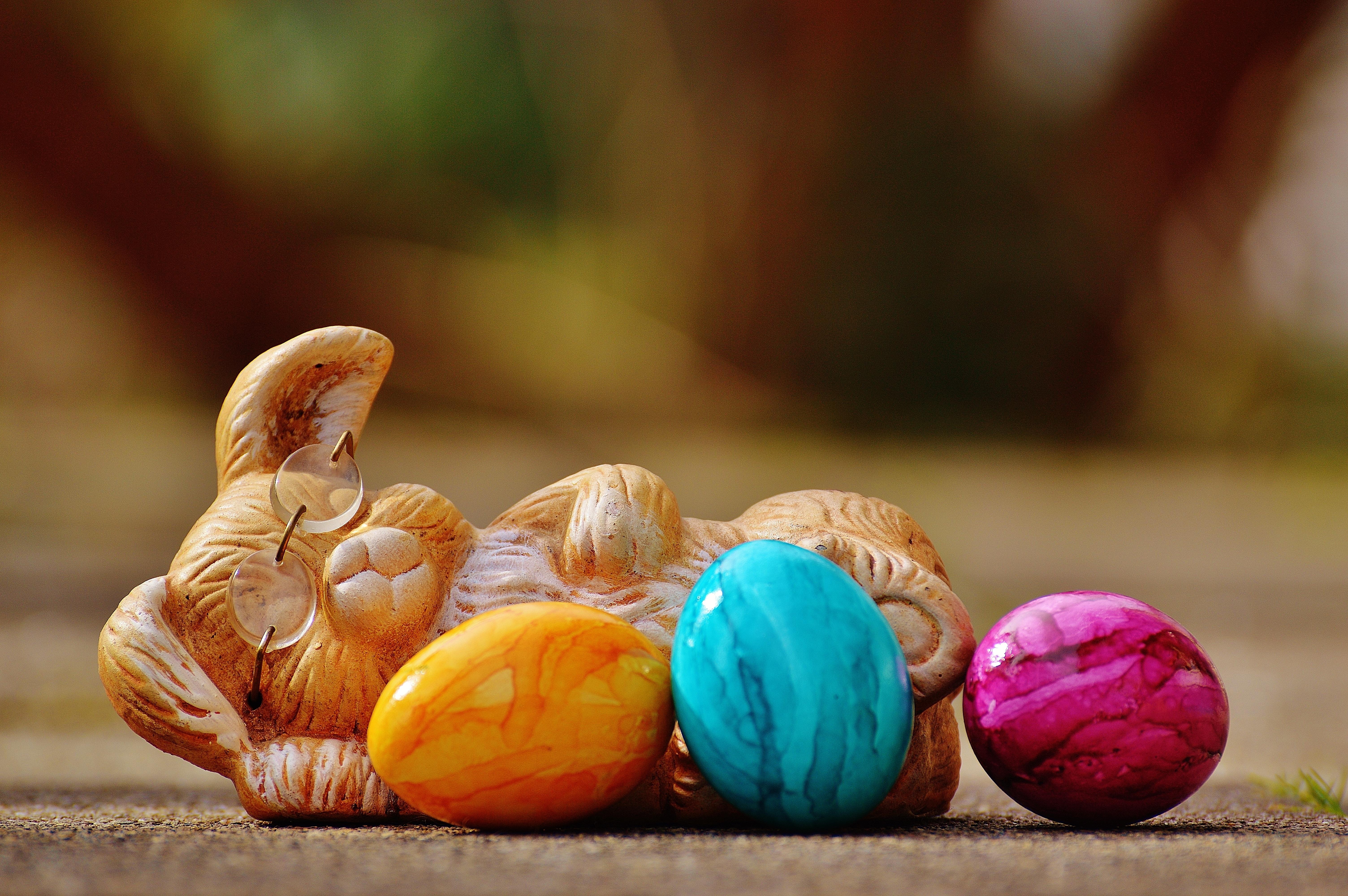 144515 descargar fondo de pantalla Vacaciones, Conejo De Pascua, Conejito De Pascua, Pascua, Huevos: protectores de pantalla e imágenes gratis