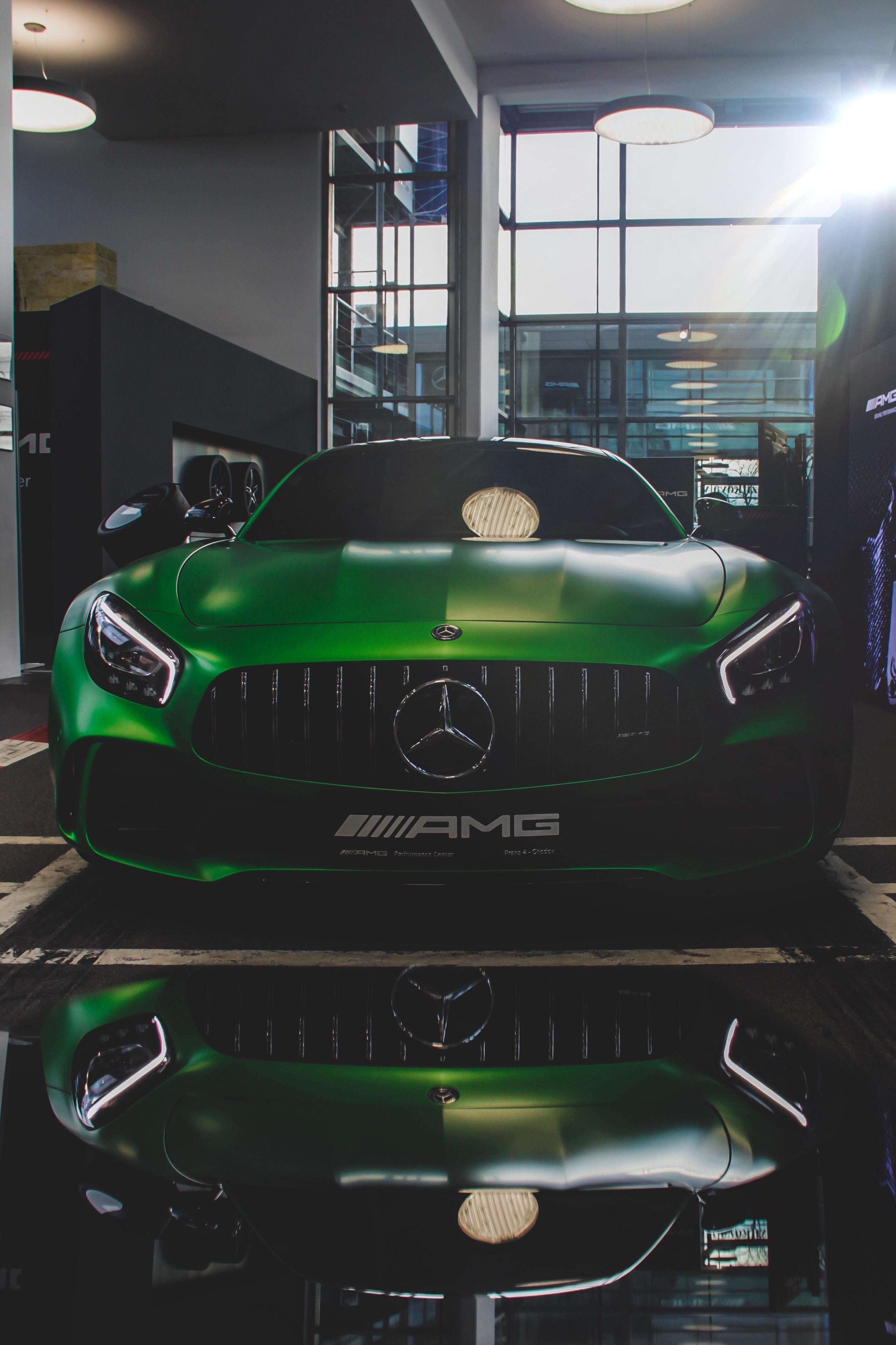 121409 Заставки и Обои Mercedes на телефон. Скачать Mercedes-Amg, Mercedes, Тачки (Cars), Вид Спереди, Зеленый картинки бесплатно
