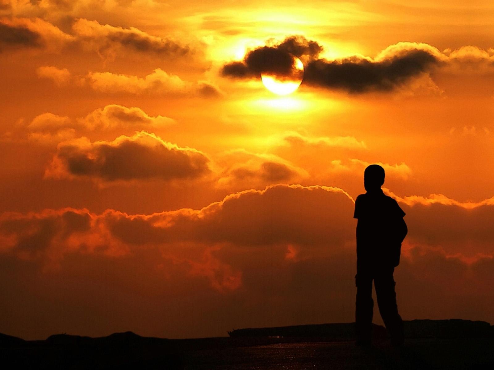 4068 скачать обои Пейзаж, Закат, Небо, Солнце - заставки и картинки бесплатно