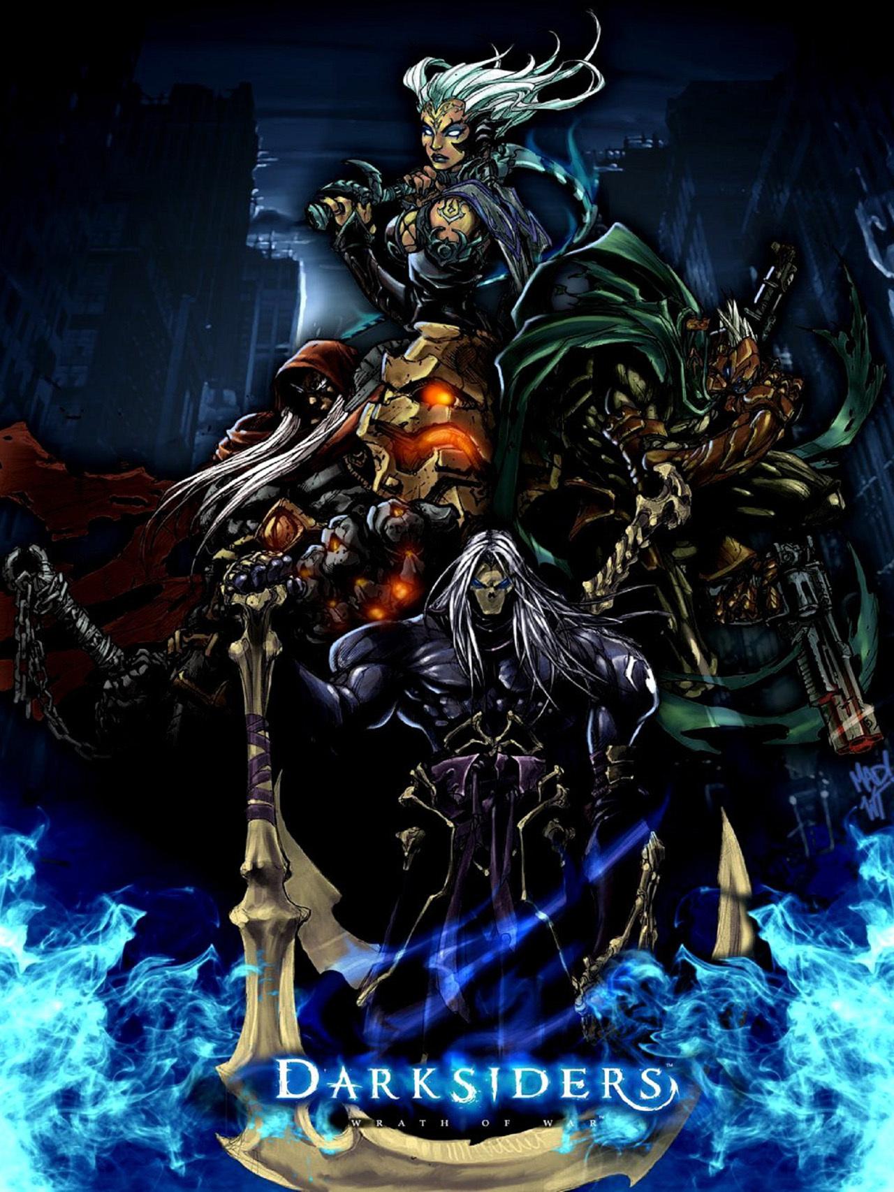 20914 télécharger le fond d'écran Jeux, Darksiders : Wrath Of War - économiseurs d'écran et images gratuitement