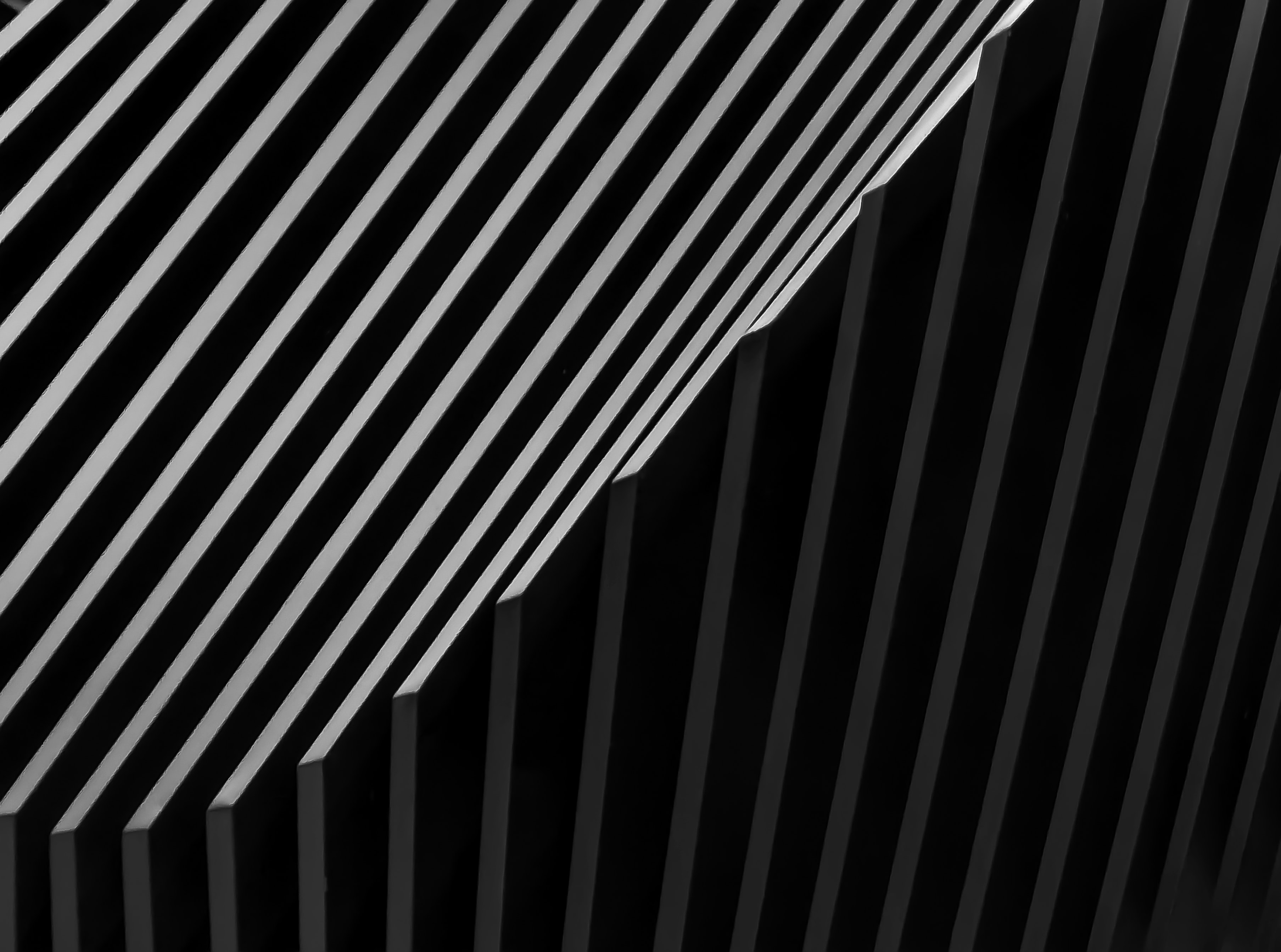 122455 download wallpaper Miscellanea, Miscellaneous, Design, Construction, Bw, Chb, Grey, Architecture screensavers and pictures for free