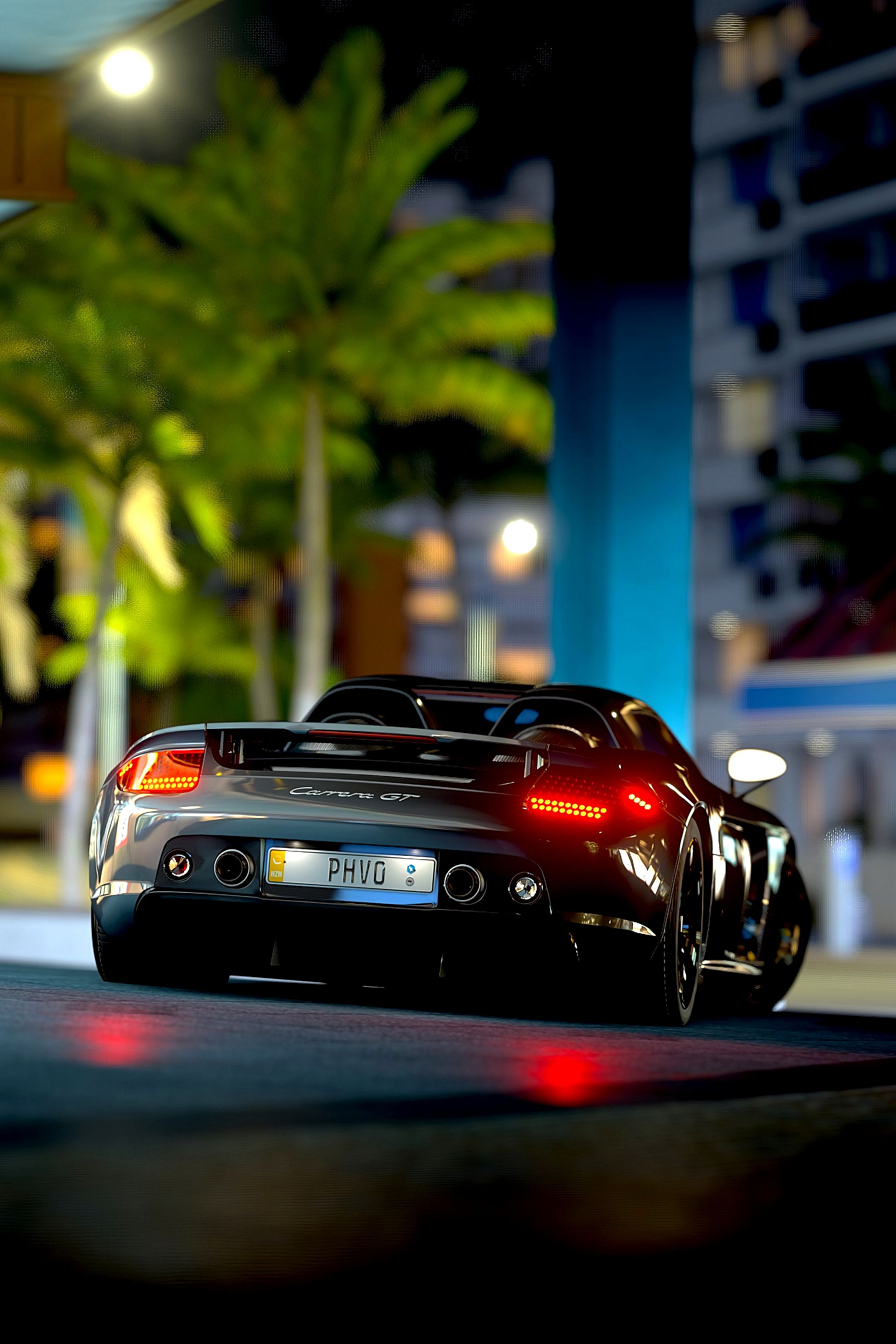 Download mobile wallpaper Light, Sports, Porsche, Cars, Shine, Sports Car, Supercar, Race, Porsche Carrera Gt, Porsche Carrera for free.