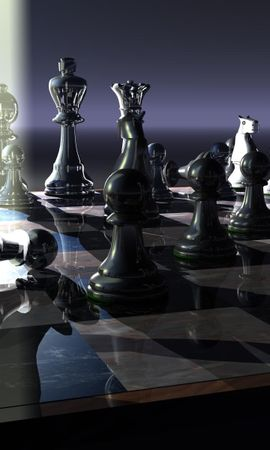 2269 скачать обои Арт, Шахматы, Объекты - заставки и картинки бесплатно