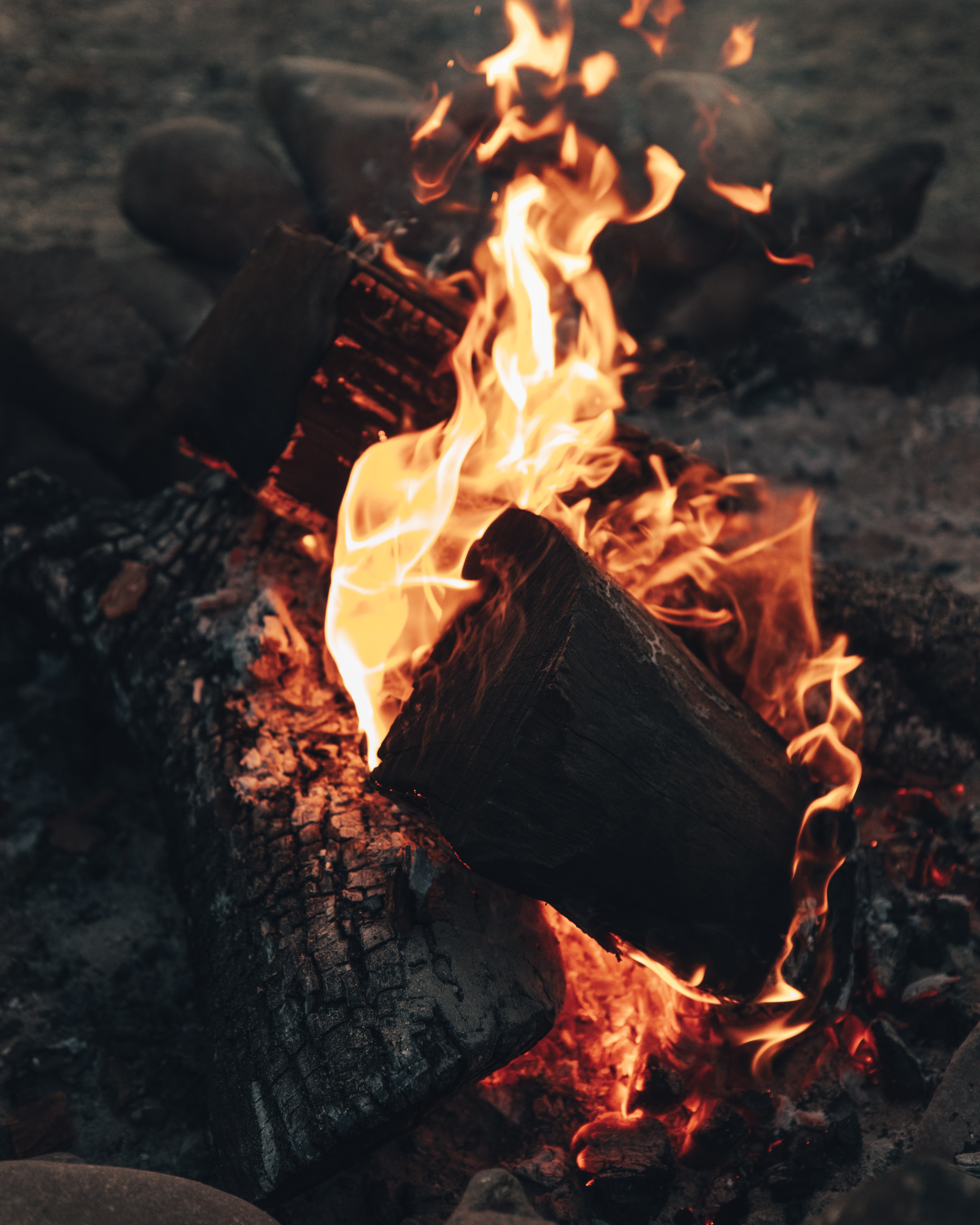 88038 Screensavers and Wallpapers Firewood for phone. Download Fire, Bonfire, Coals, Flame, Miscellanea, Miscellaneous, Firewood, Heat, Fever pictures for free