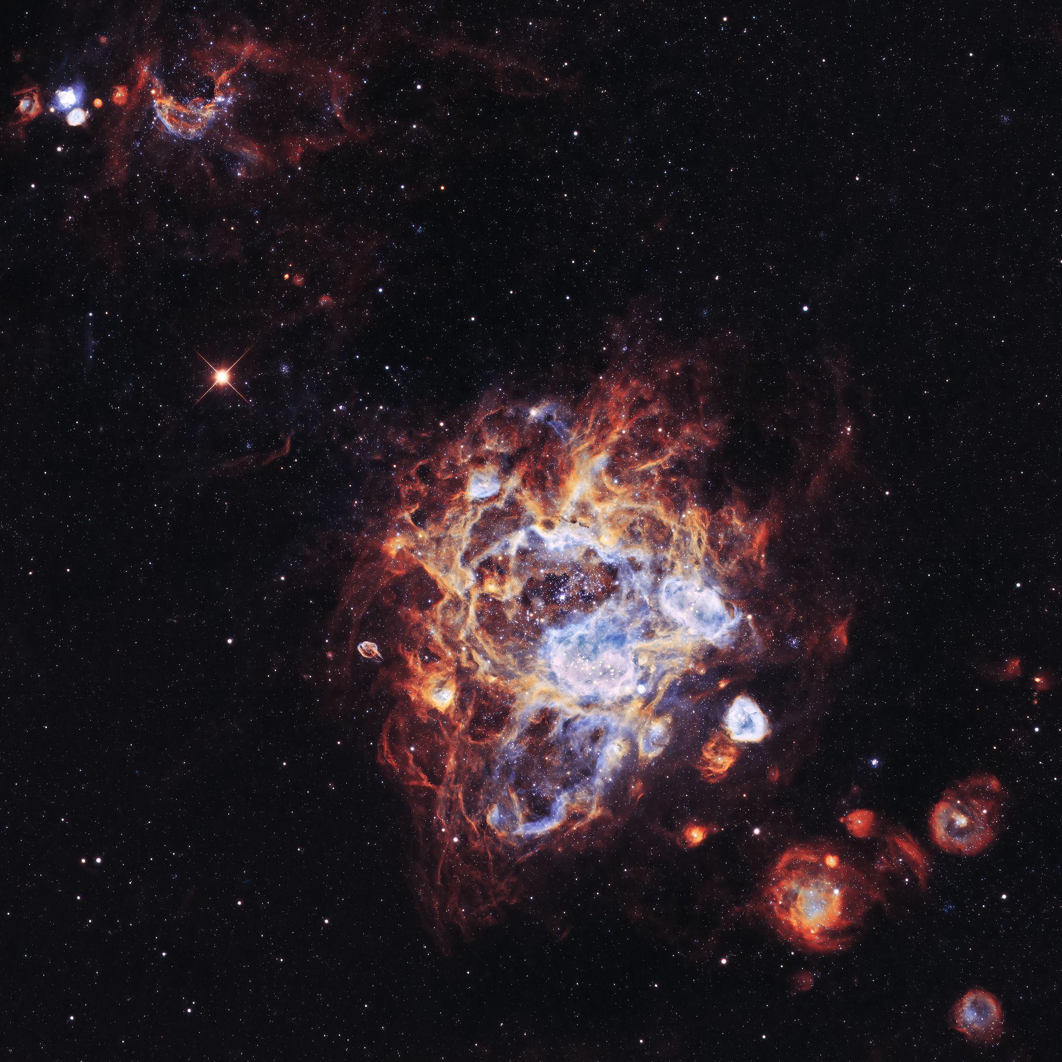 115388 Hintergrundbild herunterladen Licht, Universum, Sterne, Scheinen, Nebel, Galaxis, Galaxy - Bildschirmschoner und Bilder kostenlos