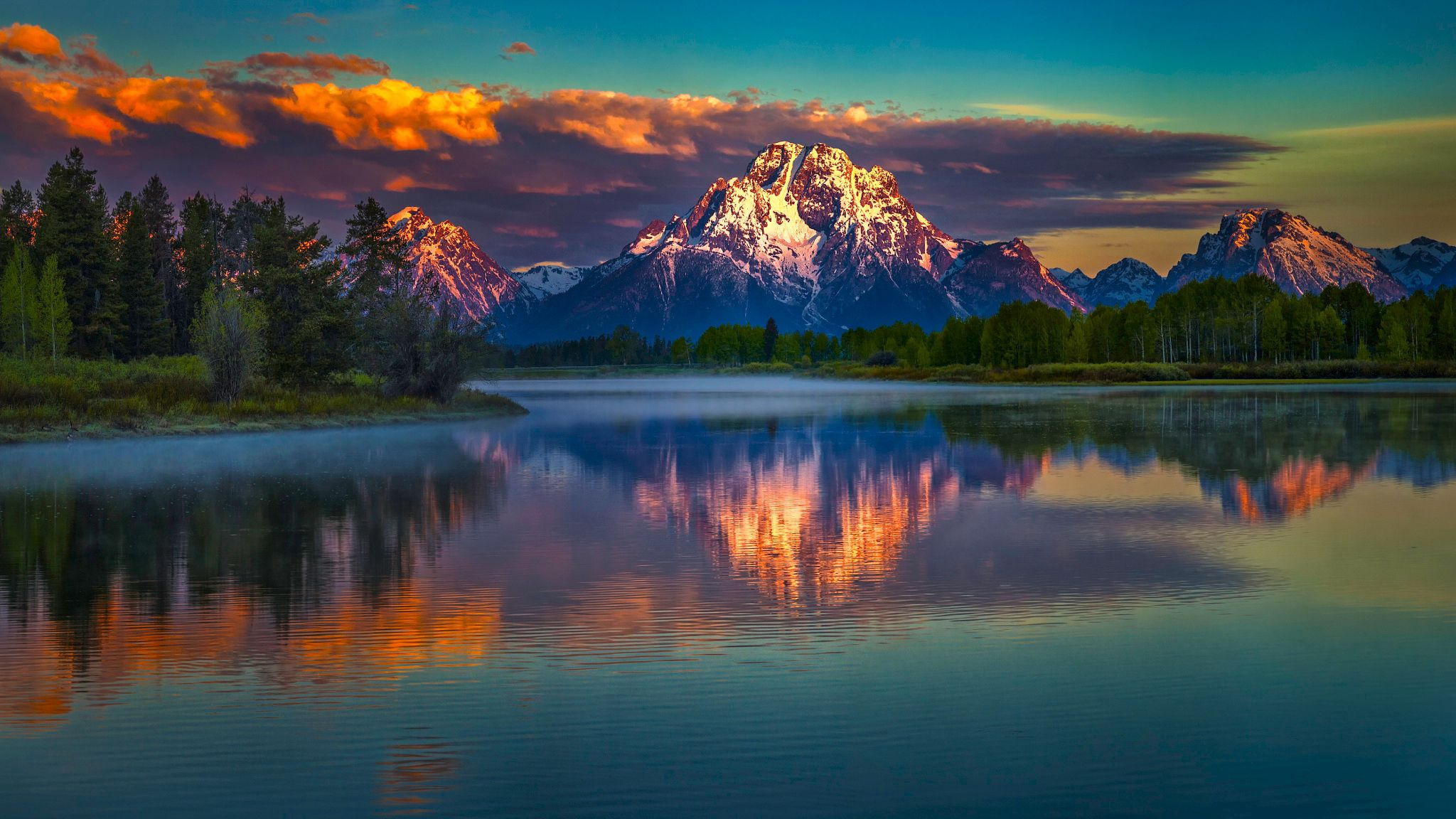 91551 download wallpaper Mountains, Nature, Sky, Lake, Reflection screensavers and pictures for free