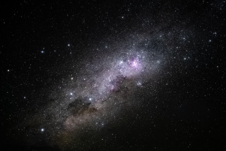 55353 скачать обои Космос, Звезды, Блики, Туманность, Галактика - заставки и картинки бесплатно