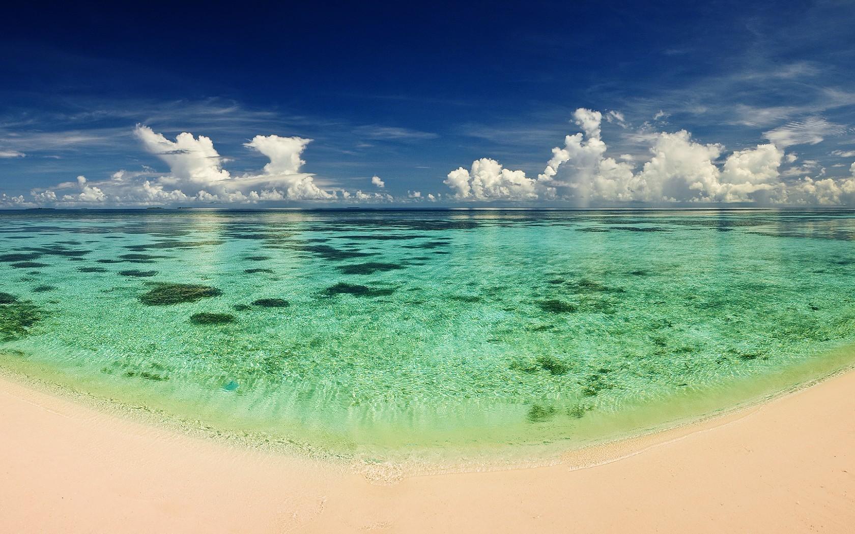 28411 скачать обои Пейзаж, Море, Облака, Пляж - заставки и картинки бесплатно