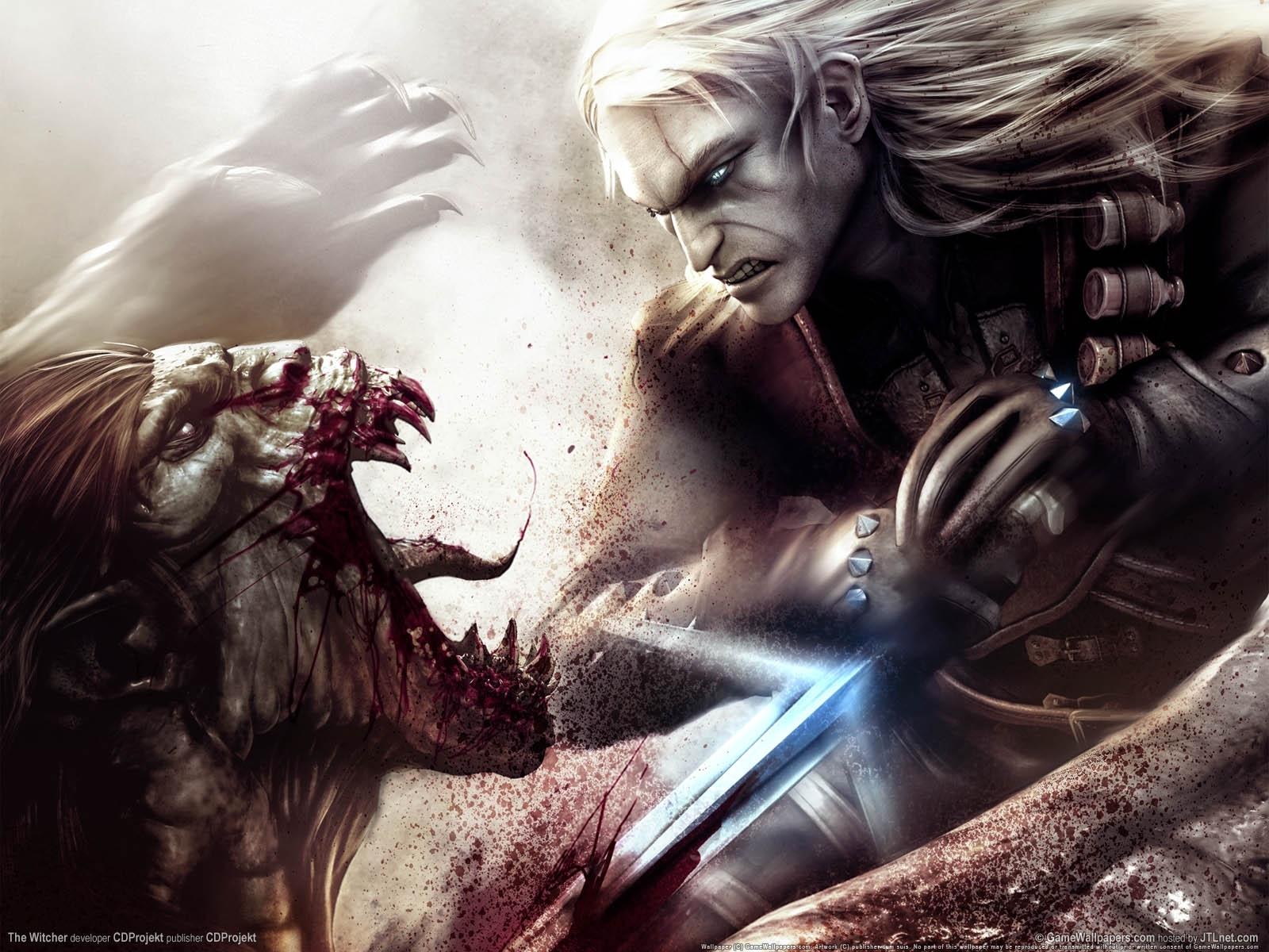 388 Hintergrundbild herunterladen Spiele, Kunst, Witcher - Bildschirmschoner und Bilder kostenlos