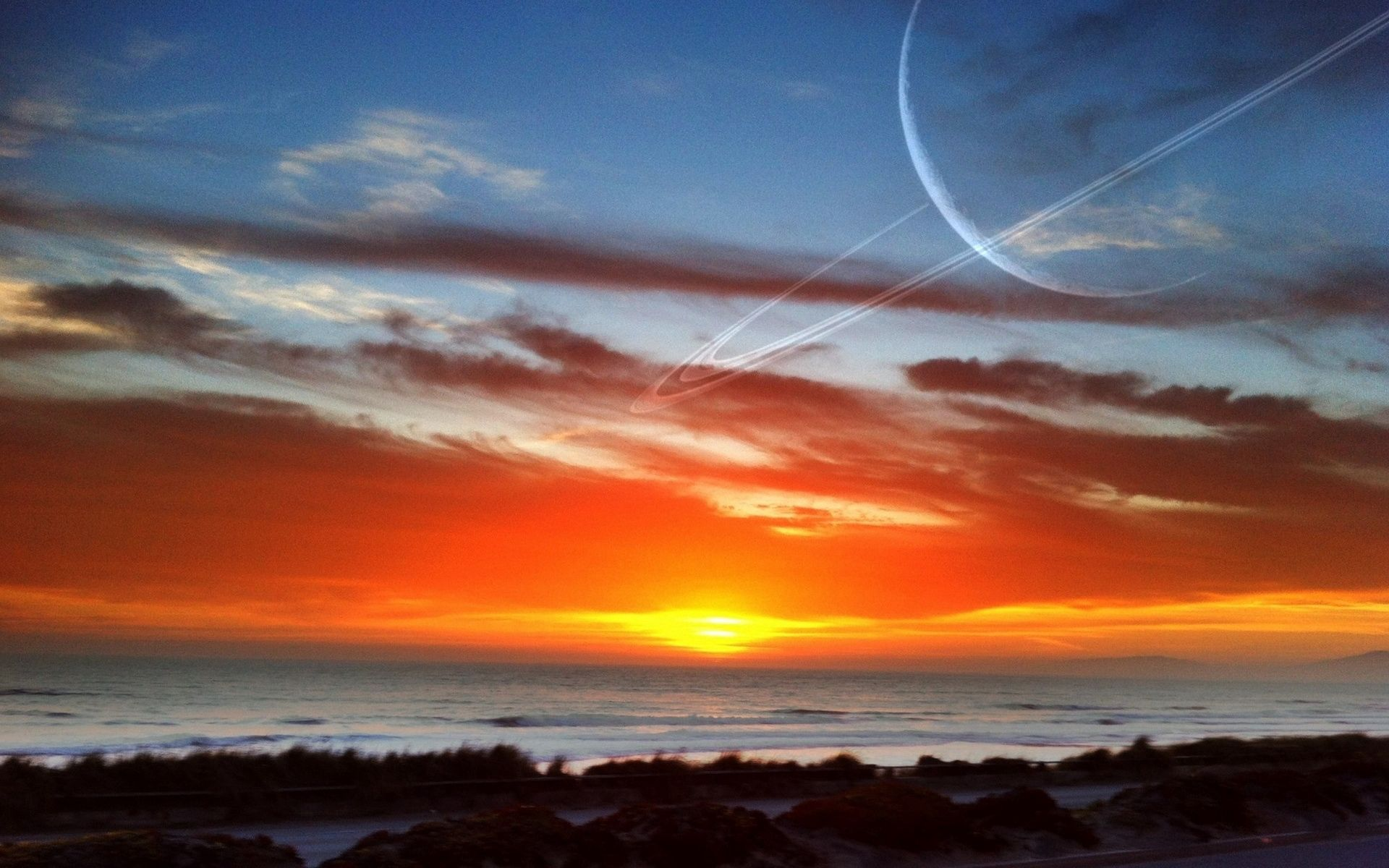138371 Screensavers and Wallpapers Beams for phone. Download Nature, Sunset, Sky, Sun, Beams, Rays pictures for free