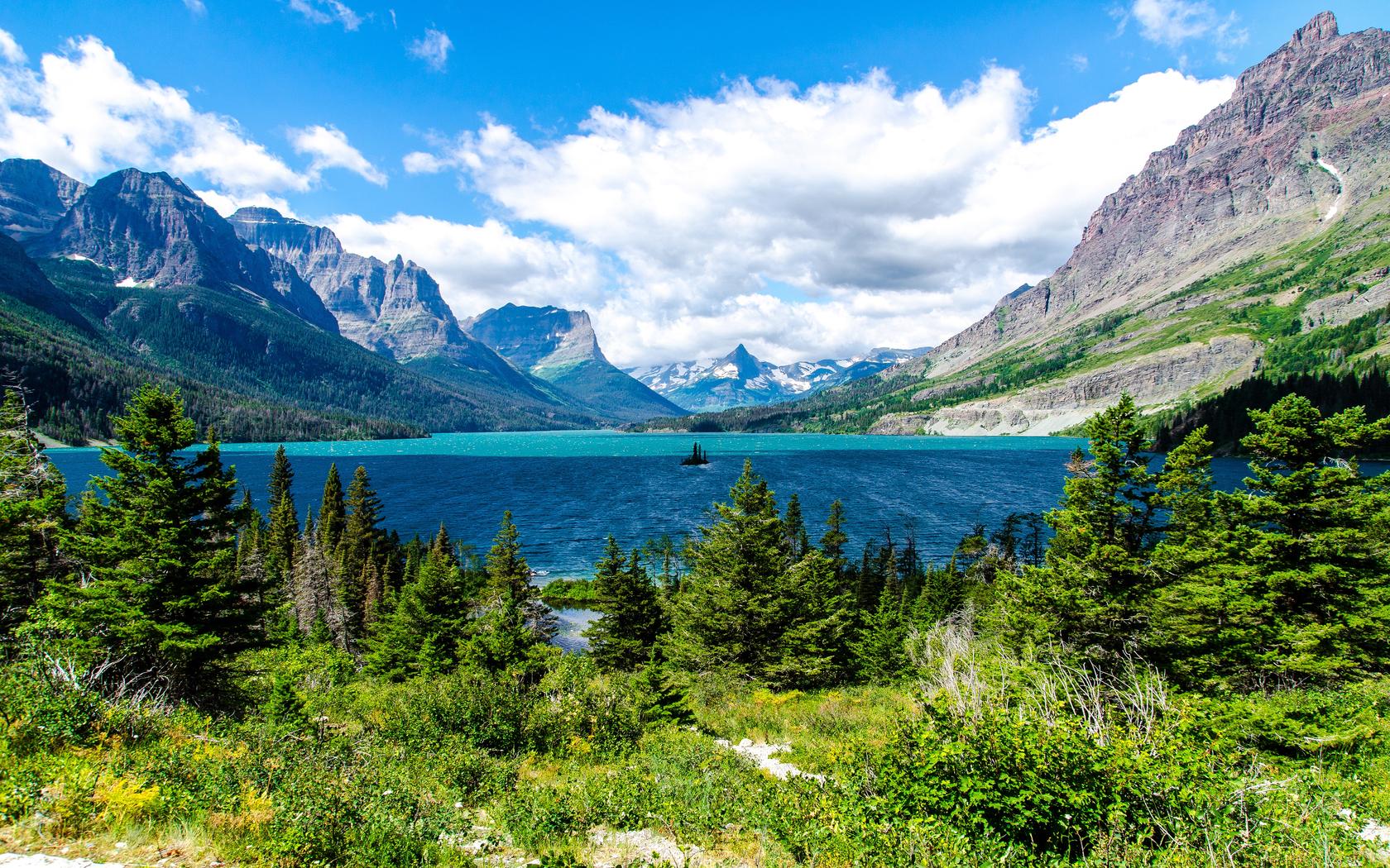 28183 Заставки и Обои Озера на телефон. Скачать Озера, Пейзаж, Горы картинки бесплатно