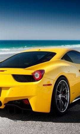 140151 télécharger le fond d'écran Voitures, 458, Italie, Italia, Mer, Ferrari, Tuning - économiseurs d'écran et images gratuitement