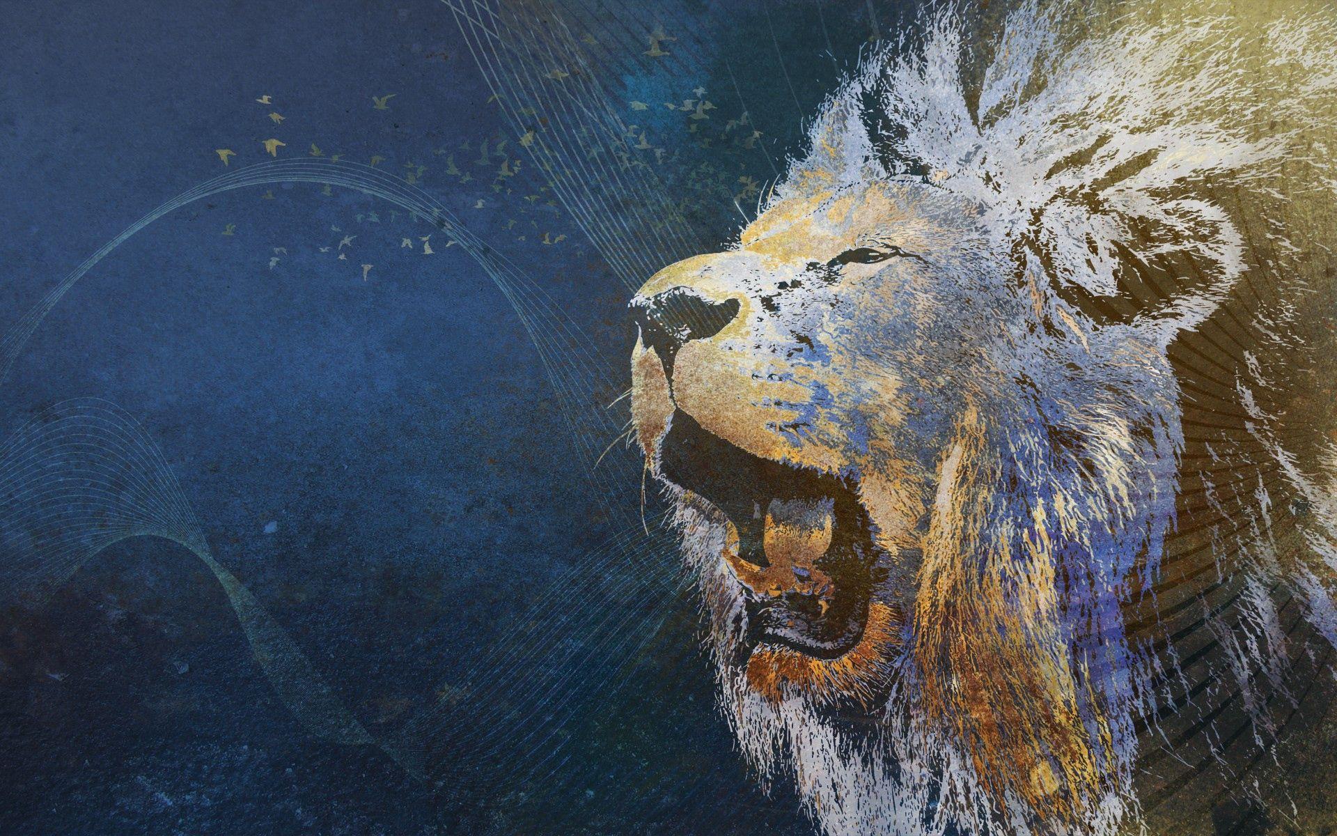 62709 baixar papel de parede Abstrato, Um Leão, Leão, Sorriso, Foto, Desenho, Fundo, Imagem - protetores de tela e imagens gratuitamente