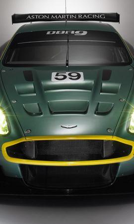 66534 descargar fondo de pantalla Deportes, Automóvil, Aston Martin, Coches, Vista Frontal, Estilo, 2005, Dbr9, Coche De Carreras: protectores de pantalla e imágenes gratis