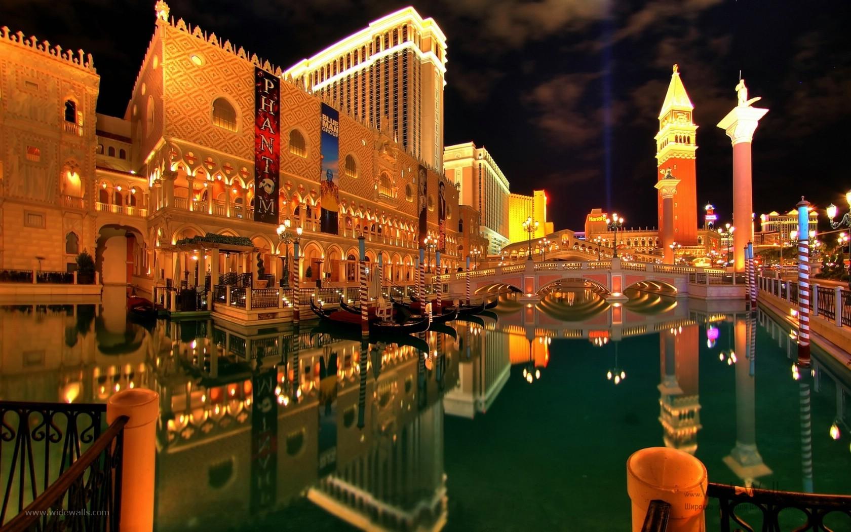 15451 скачать обои Пейзаж, Города, Ночь, Архитектура, Лас Вегас (Las Vegas) - заставки и картинки бесплатно