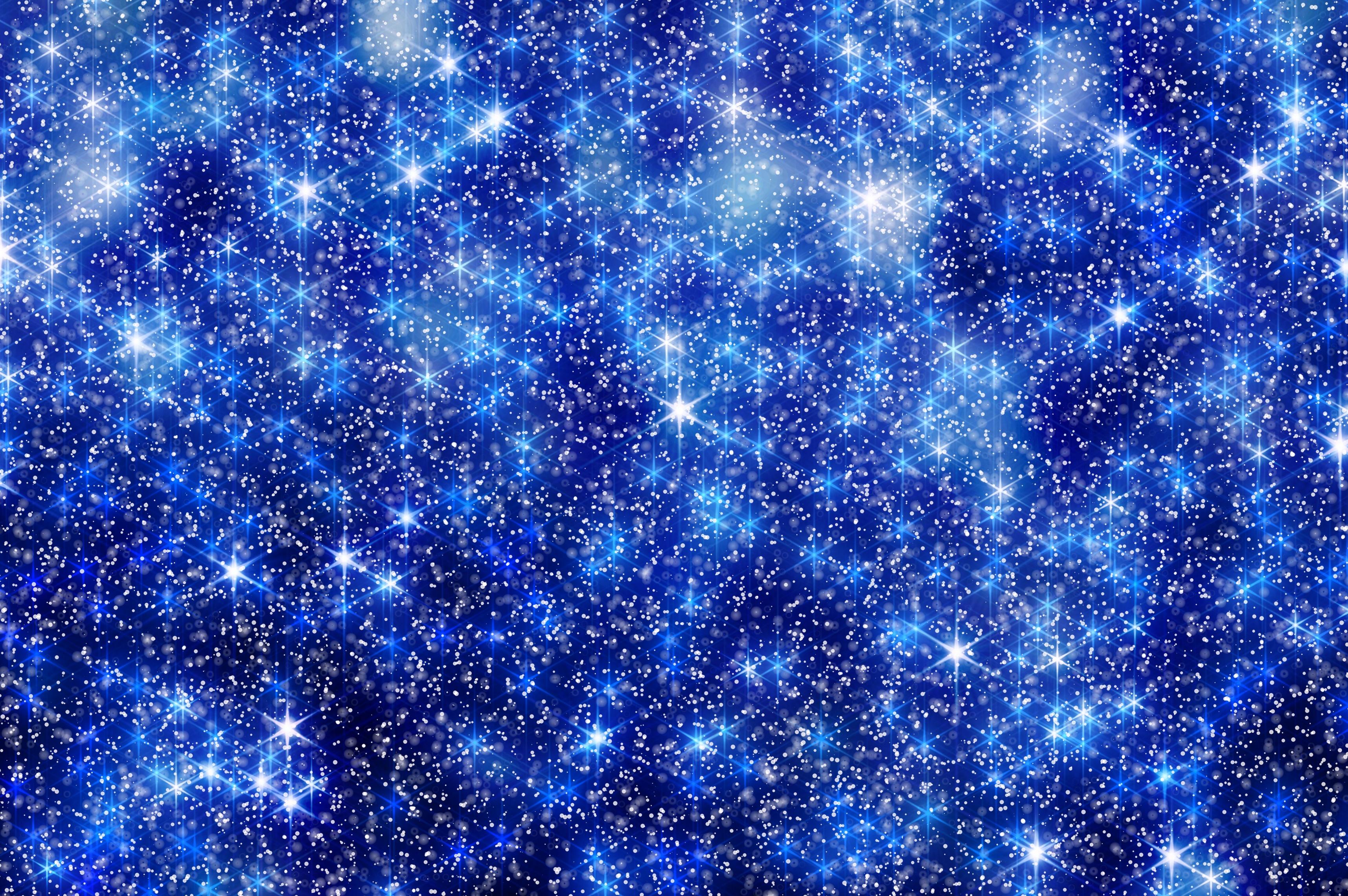 135090 скачать обои Снежинки, Абстракция, Звезды, Сияние, Блеск - заставки и картинки бесплатно
