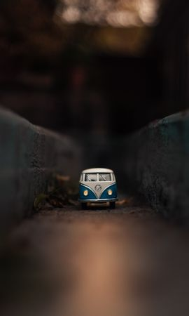 145506 Screensavers and Wallpapers Volkswagen for phone. Download Cars, Volkswagen, Bus, Toy, Macro pictures for free