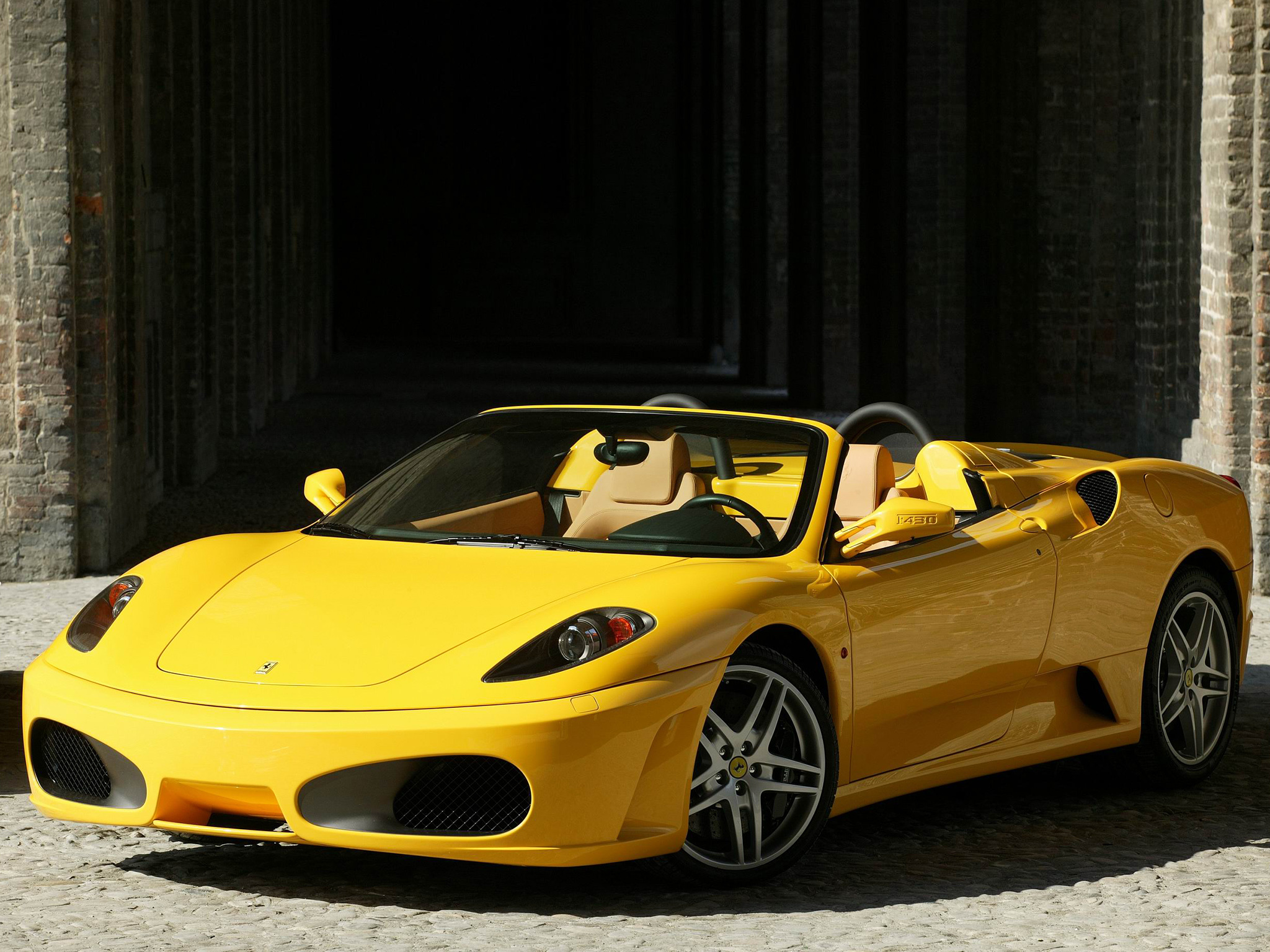 149987 Screensavers and Wallpapers Ferrari for phone. Download Ferrari, Cars, Side View, Cabriolet, Spider, F430 pictures for free