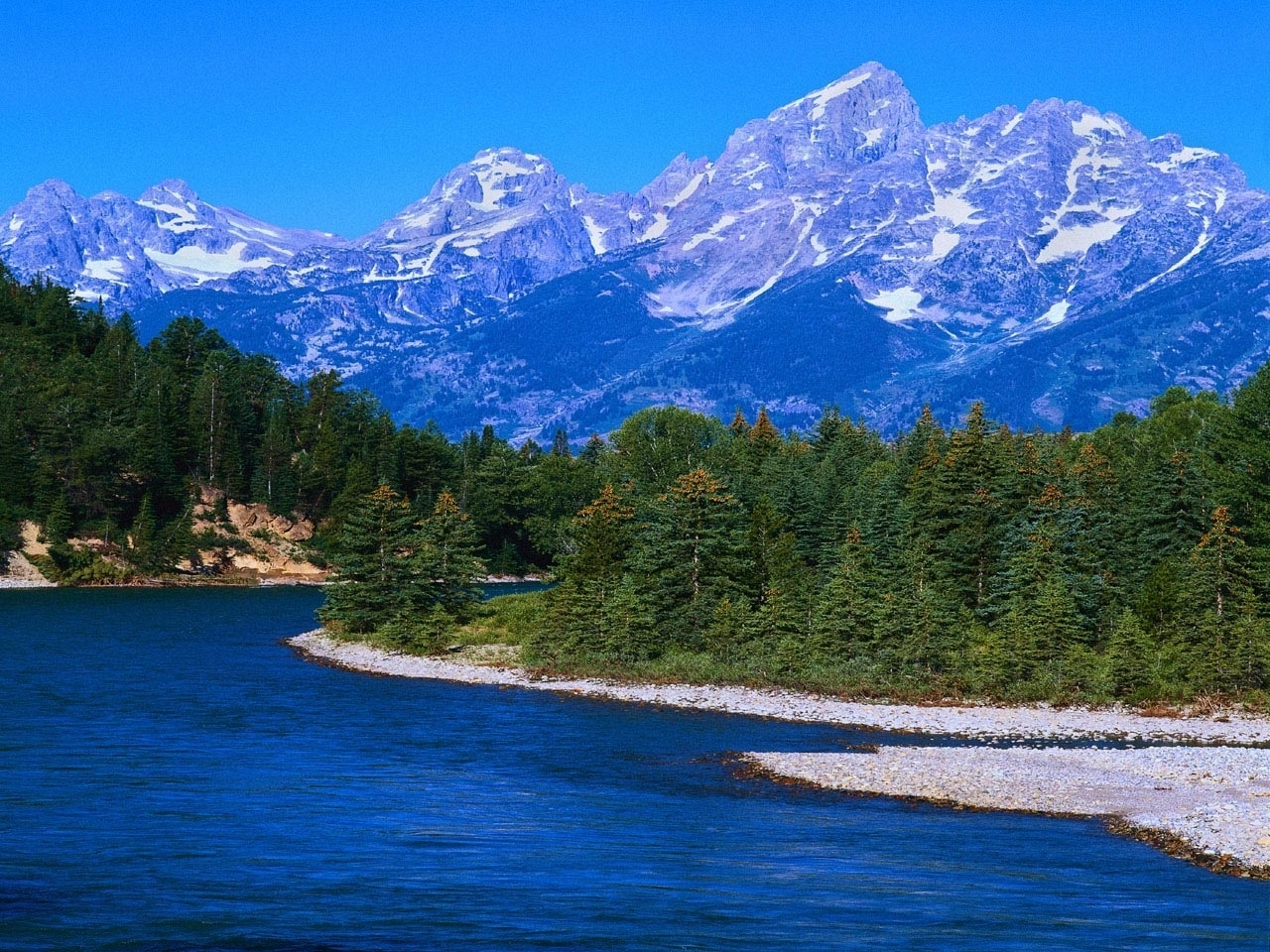 49503 download wallpaper Landscape, Nature, Rivers, Mountains screensavers and pictures for free
