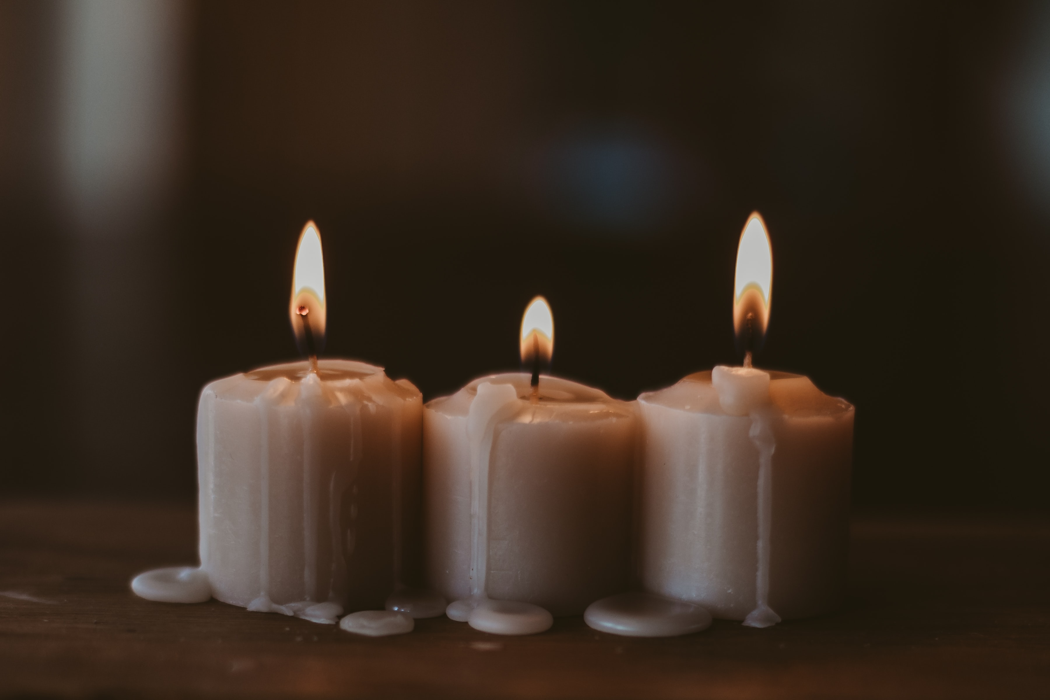 154712 Screensavers and Wallpapers Candles for phone. Download Fire, Candles, Flame, Miscellanea, Miscellaneous, Coziness, Comfort, Wax pictures for free