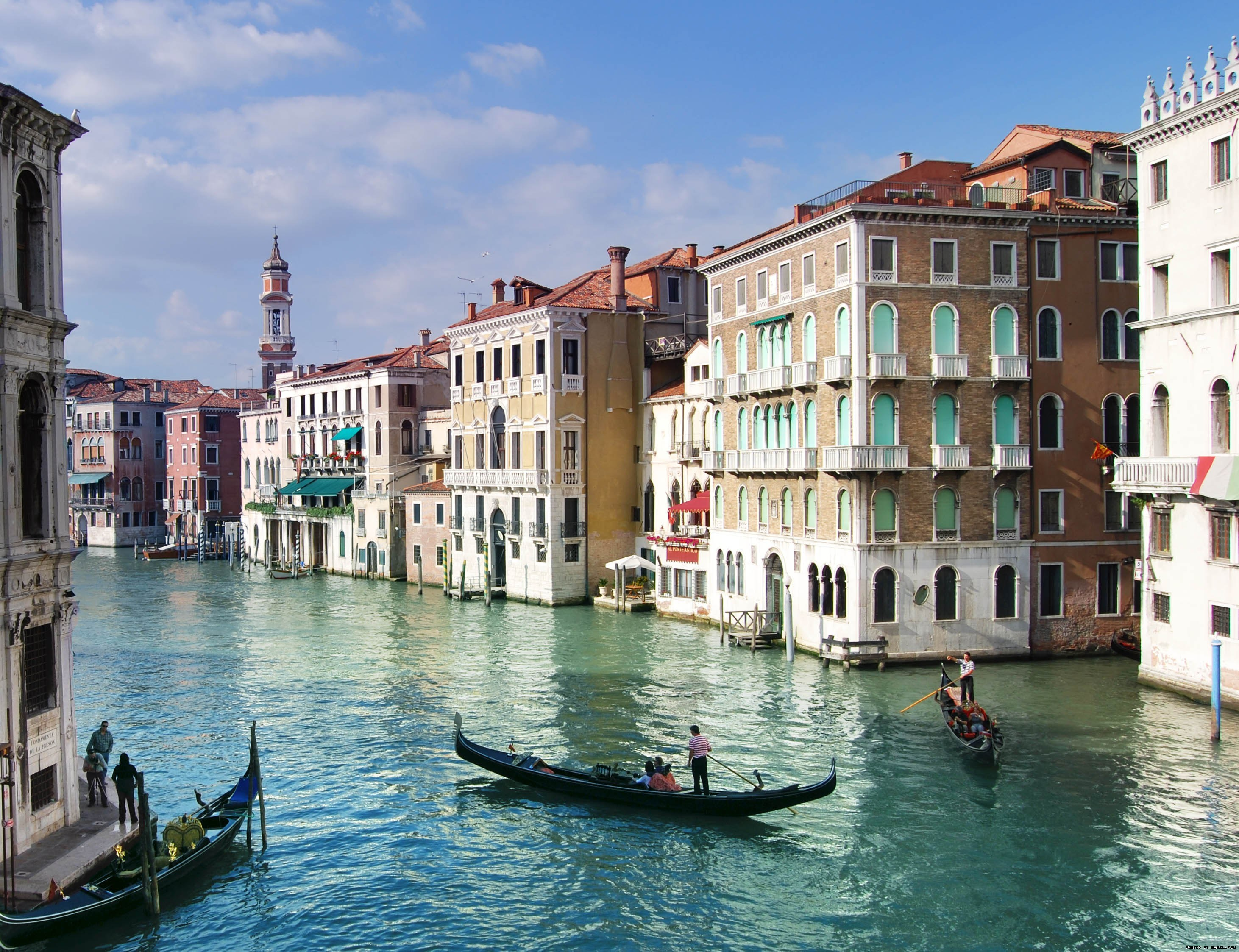 22646 télécharger le fond d'écran Paysage, Villes, Eau, Bateaux, Venise - économiseurs d'écran et images gratuitement