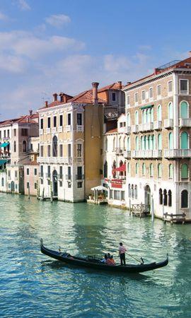 22646 скачать обои Пейзаж, Города, Вода, Лодки, Венеция - заставки и картинки бесплатно