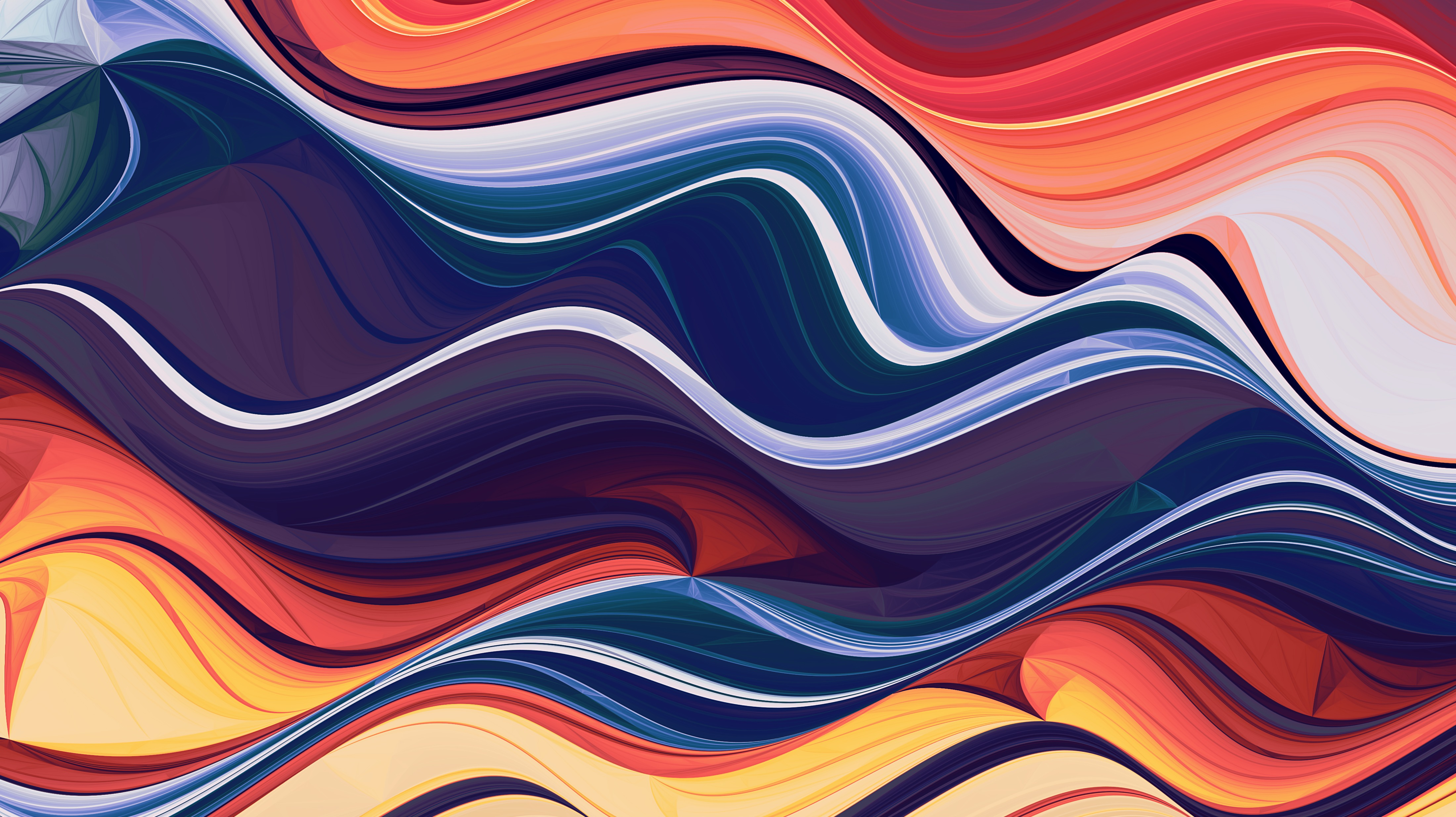 134459 download wallpaper Abstract, Multicolored, Motley, Lines, Waves screensavers and pictures for free