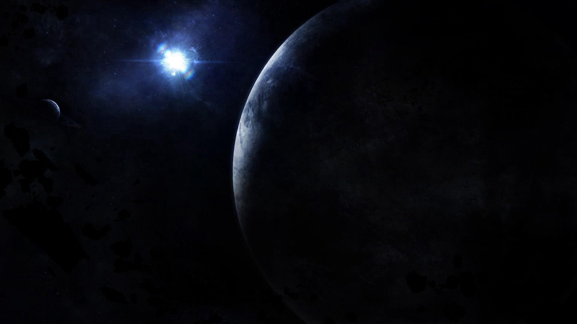 66330 скачать обои Планеты, Космос, Свет, Лучи - заставки и картинки бесплатно
