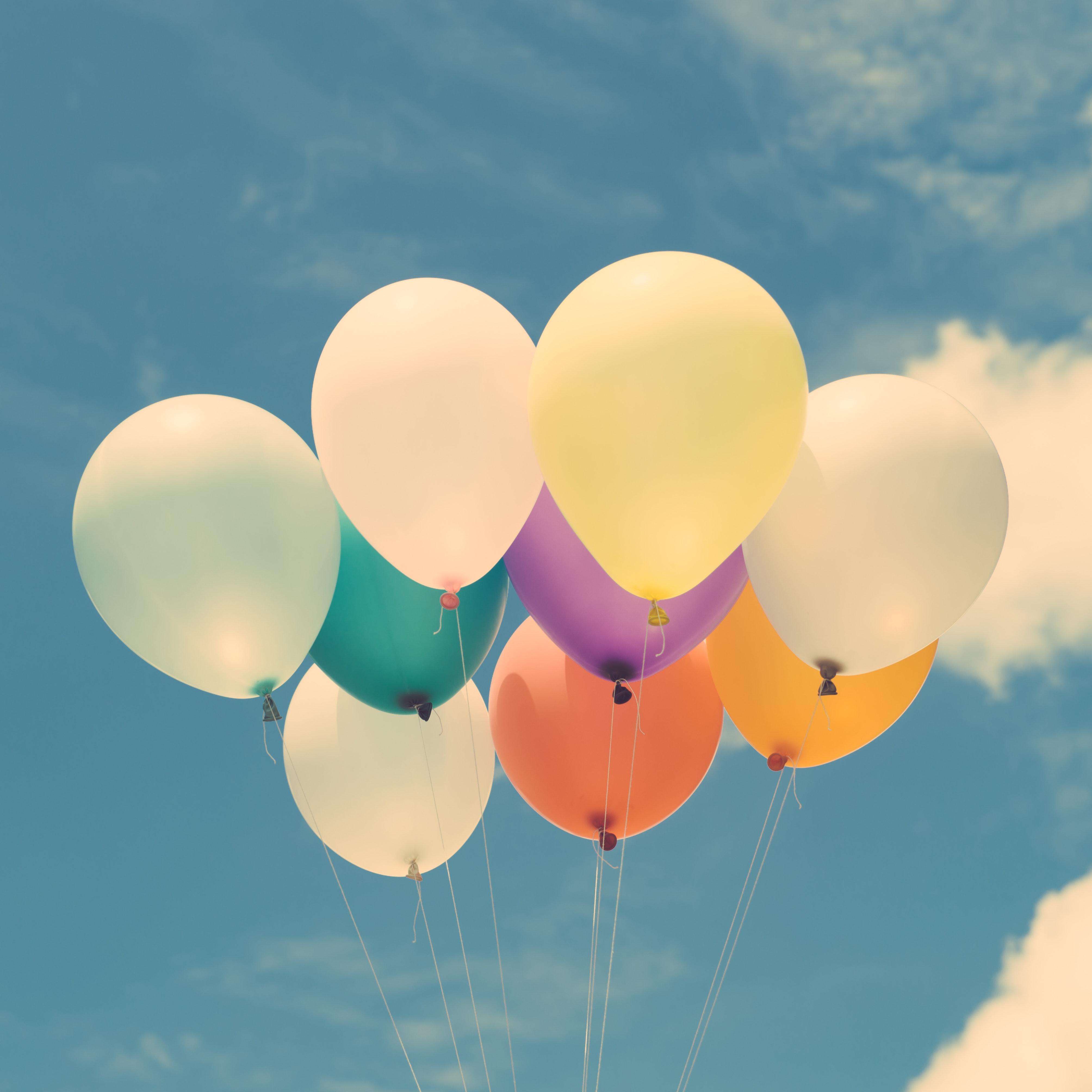 92947 скачать обои Разное, Разноцветный, Небо, Легкость, Полет, Счастье, Воздушные Шары - заставки и картинки бесплатно