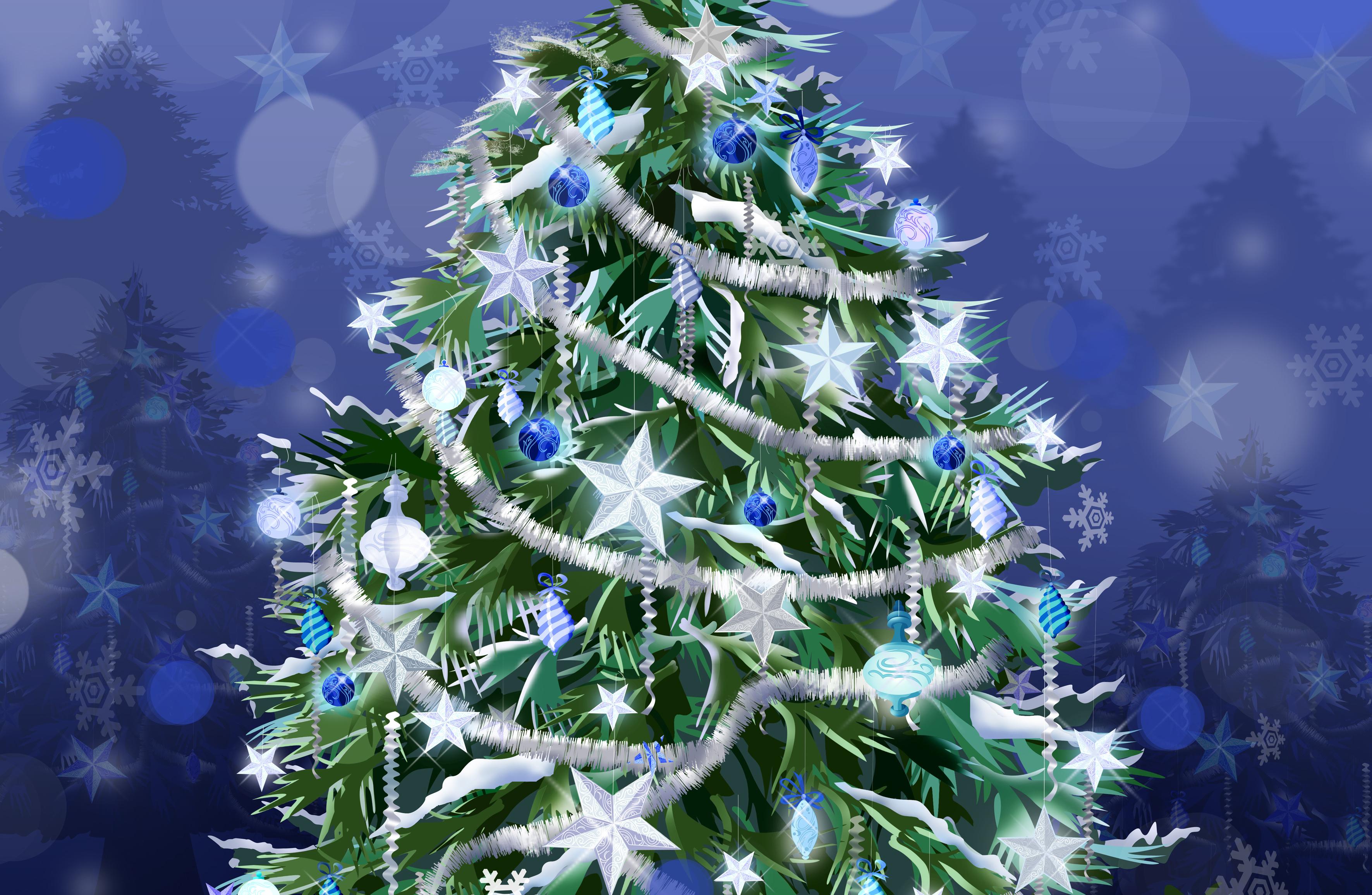 14053 descargar fondo de pantalla Vacaciones, Árboles, Año Nuevo, Abetos, Navidad, Imágenes: protectores de pantalla e imágenes gratis
