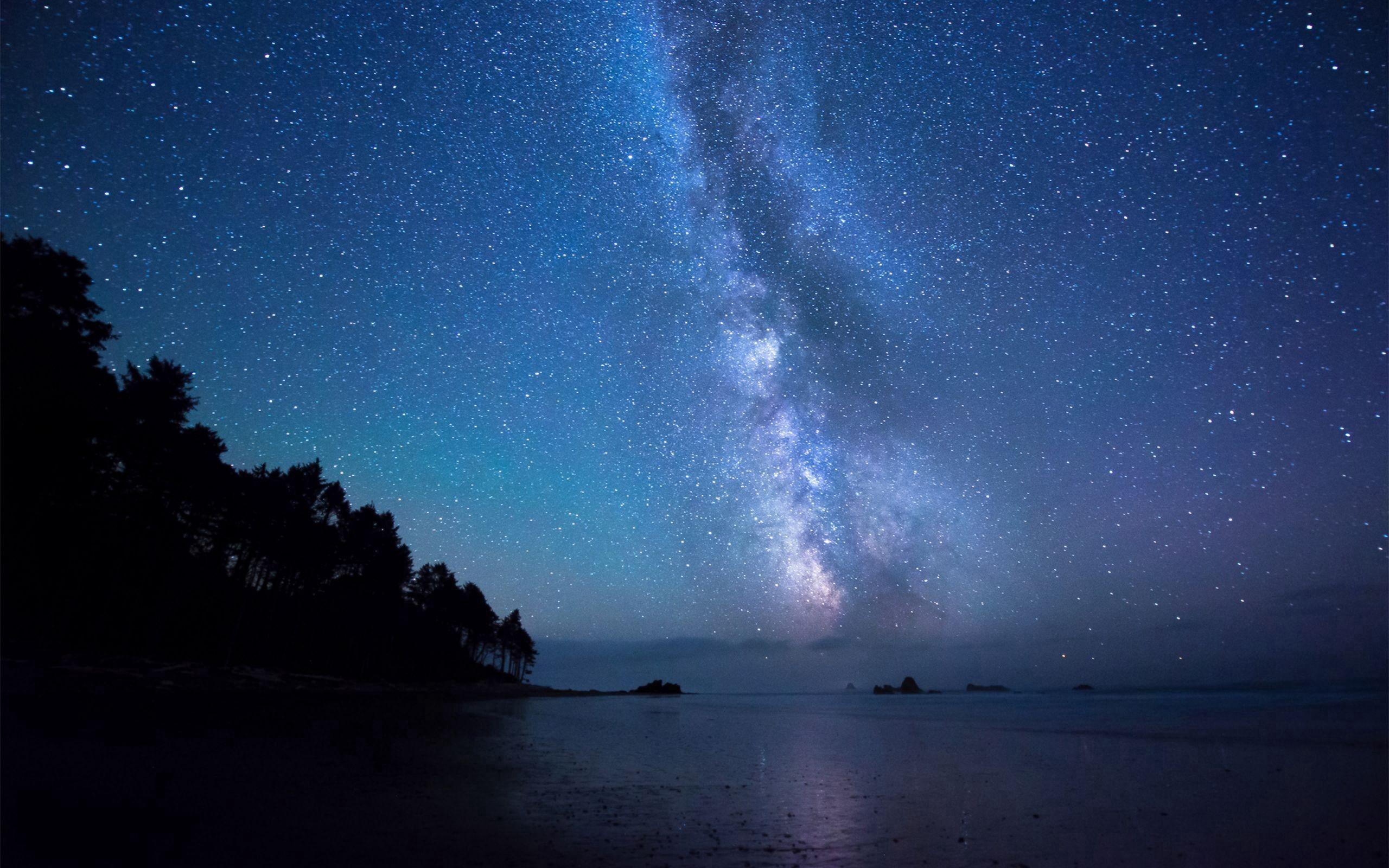 102507 Заставки и Обои Небо на телефон. Скачать Природа, Небо, Берег, Звезды картинки бесплатно
