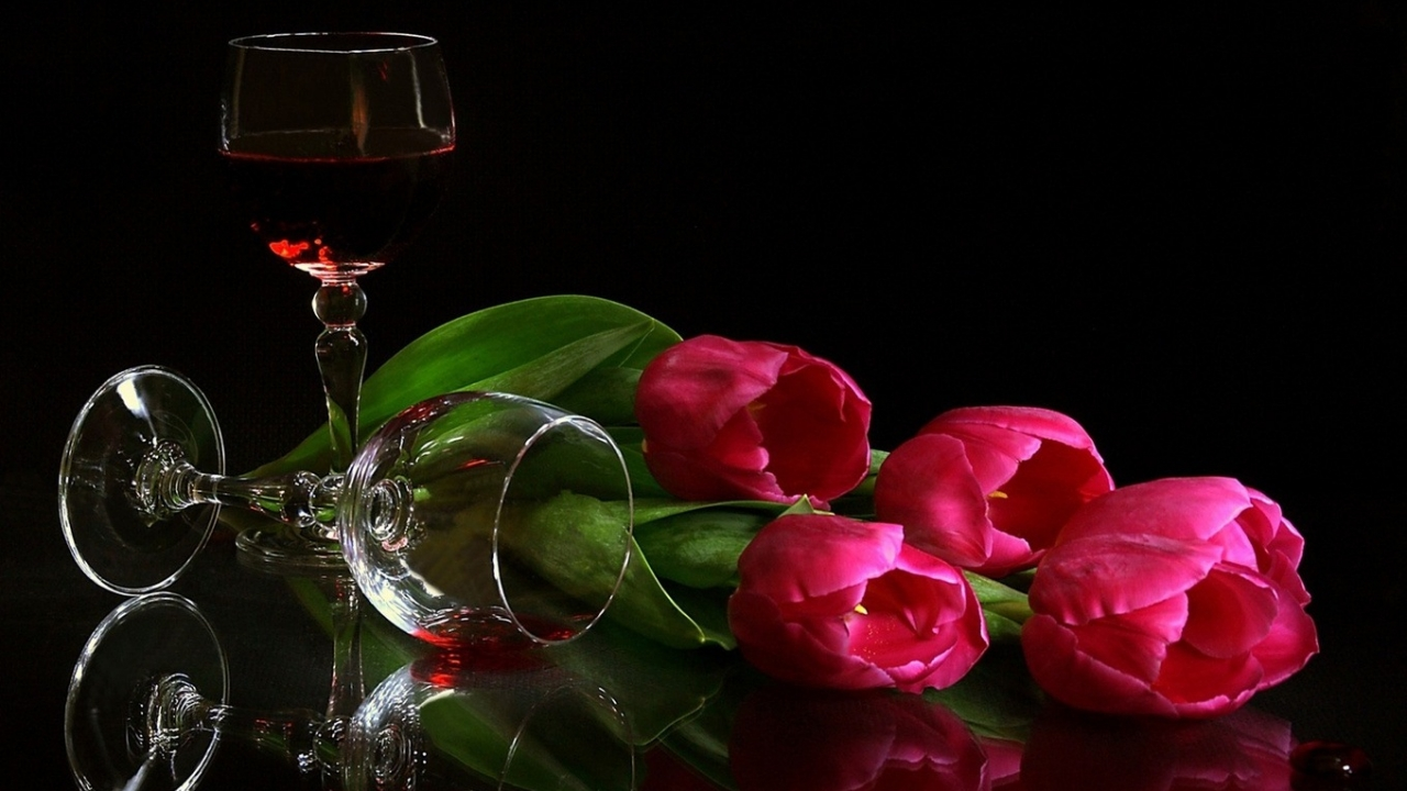 34874 скачать обои Цветы, Фон, Вино - заставки и картинки бесплатно