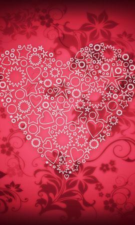 19018 скачать обои Праздники, Фон, Сердца, Любовь, День Святого Валентина (Valentine's Day) - заставки и картинки бесплатно