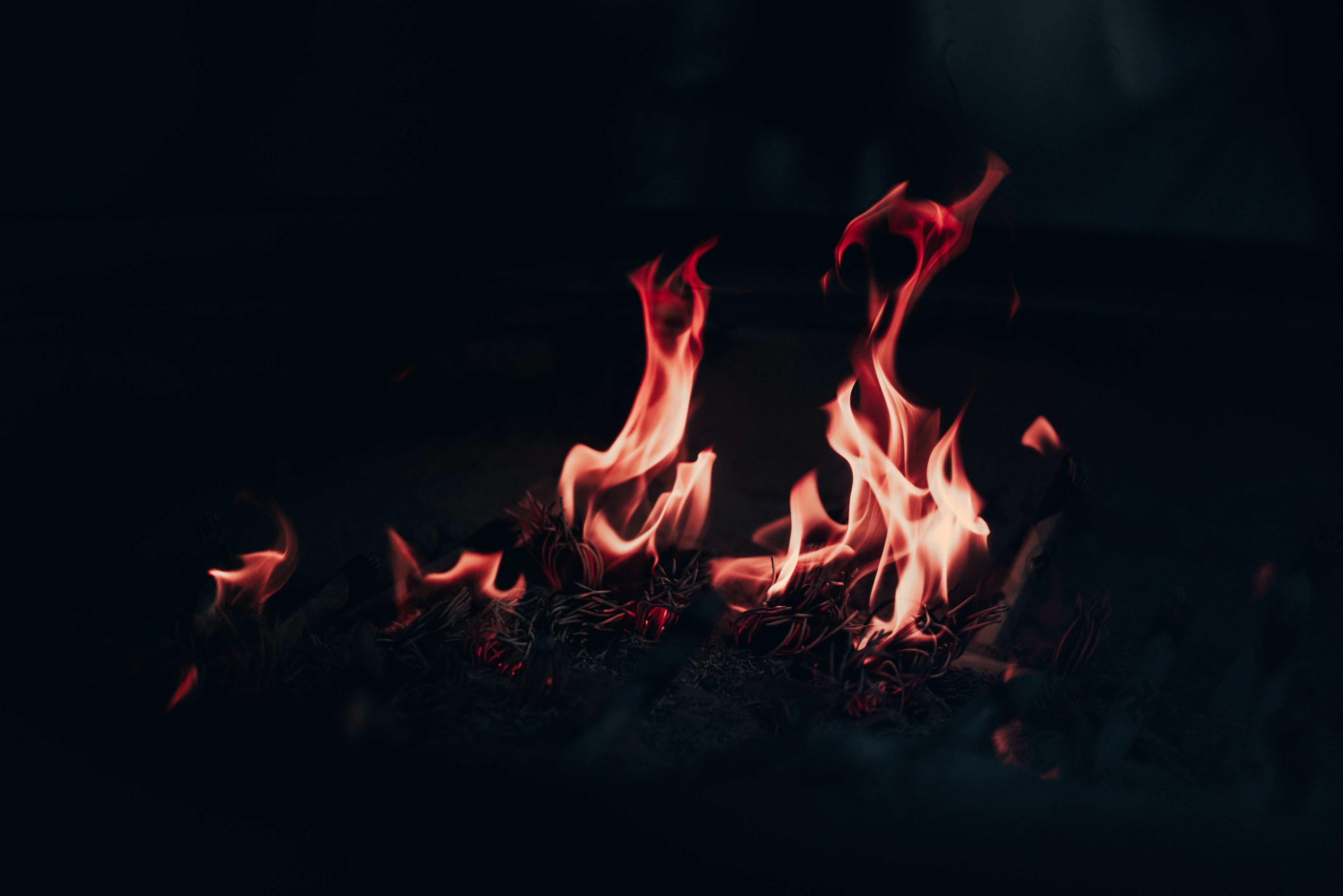 145523 Screensavers and Wallpapers Bonfire for phone. Download Fire, Bonfire, Night, Dark, Flame, To Burn, Burn pictures for free