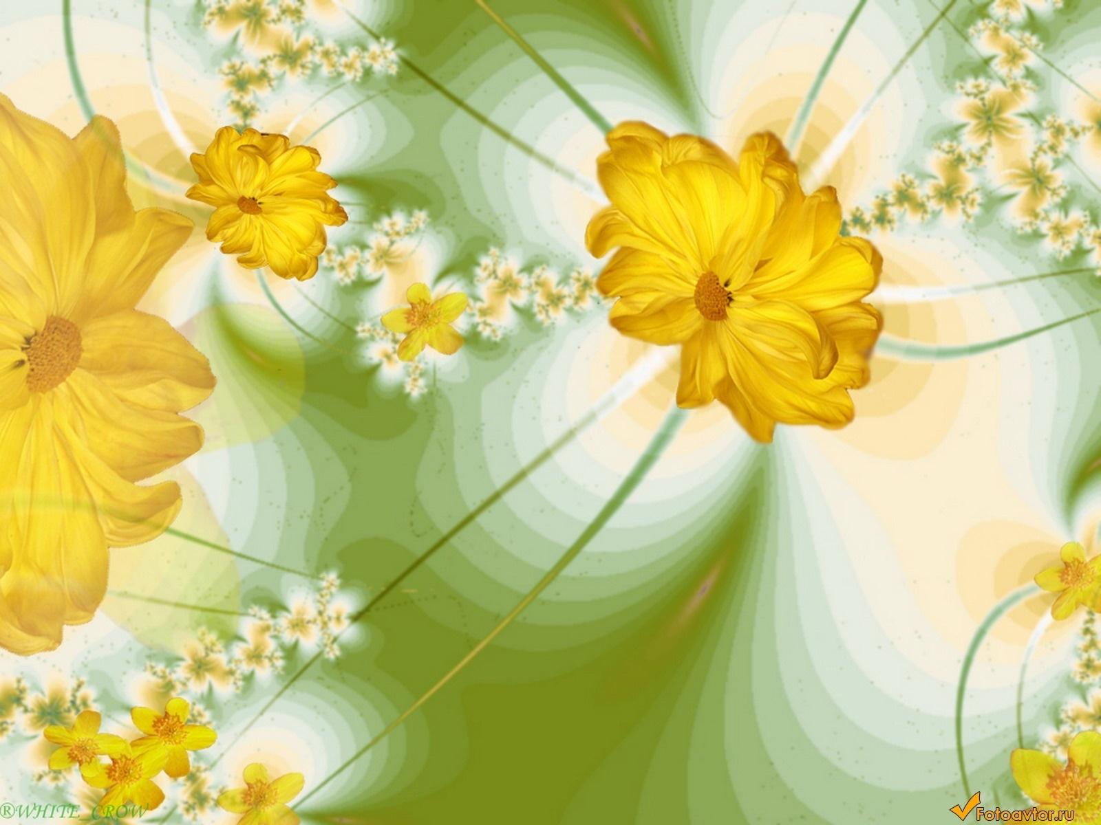 2375 скачать обои Растения, Цветы, Рисунки - заставки и картинки бесплатно