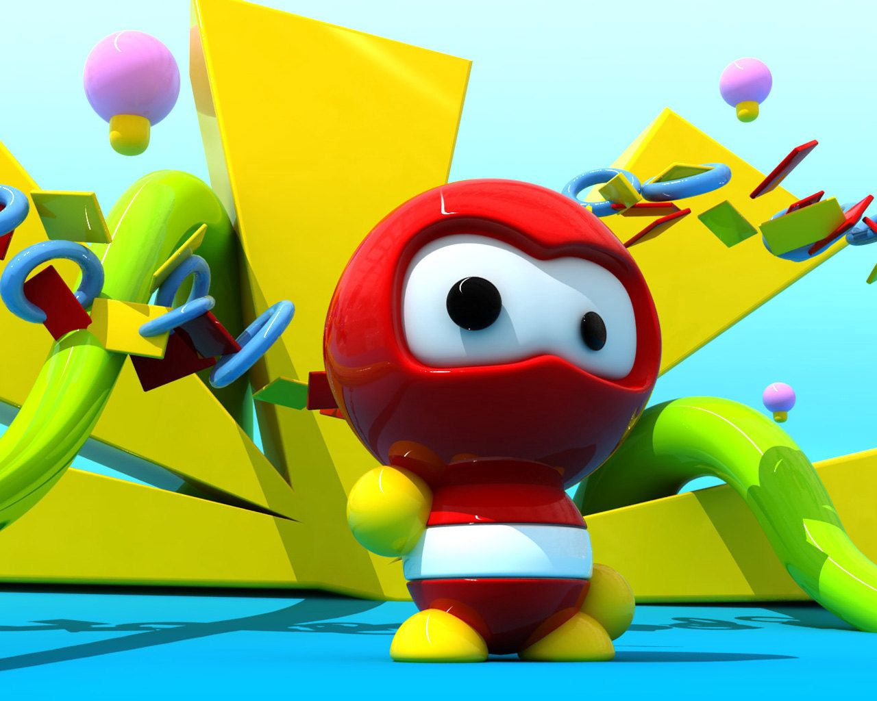 手機的86542屏保和壁紙游戏。 免費下載 3D, 游戏, 机器人, 明亮的, 明亮, 红色的 圖片